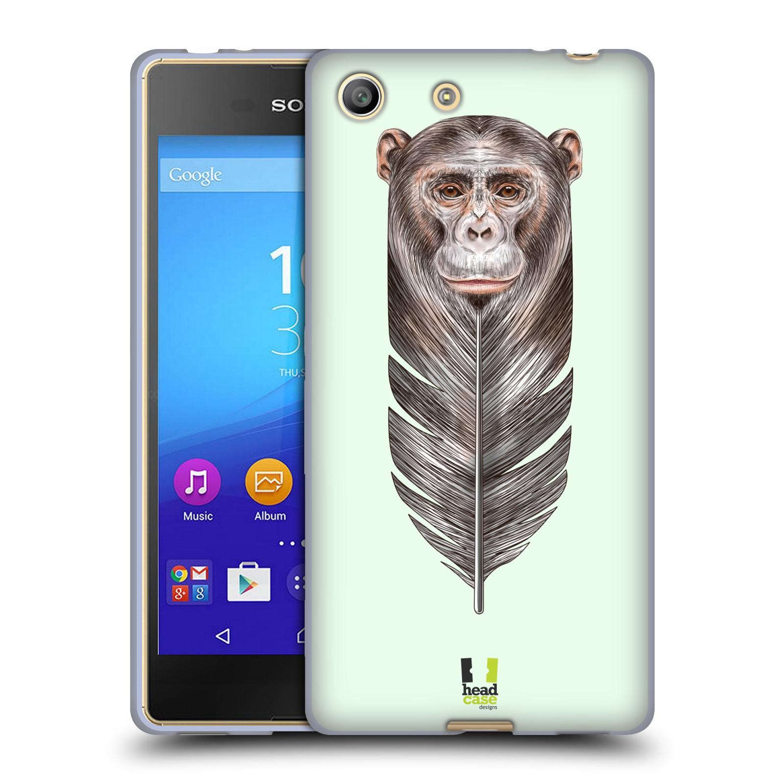 Silikonové pouzdro na mobil Sony Xperia M5 HEAD CASE PÍRKO OPIČKA (Silikonový kryt či obal na mobilní telefon Sony Xperia M5 Dual SIM / Aqua)