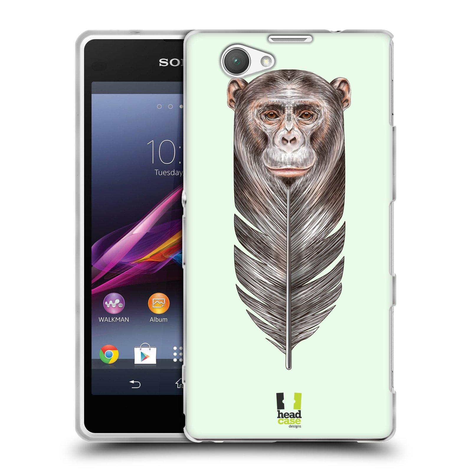 Silikonové pouzdro na mobil Sony Xperia Z1 Compact D5503 HEAD CASE PÍRKO OPIČKA (Silikonový kryt či obal na mobilní telefon Sony Xperia Z1 Compact)