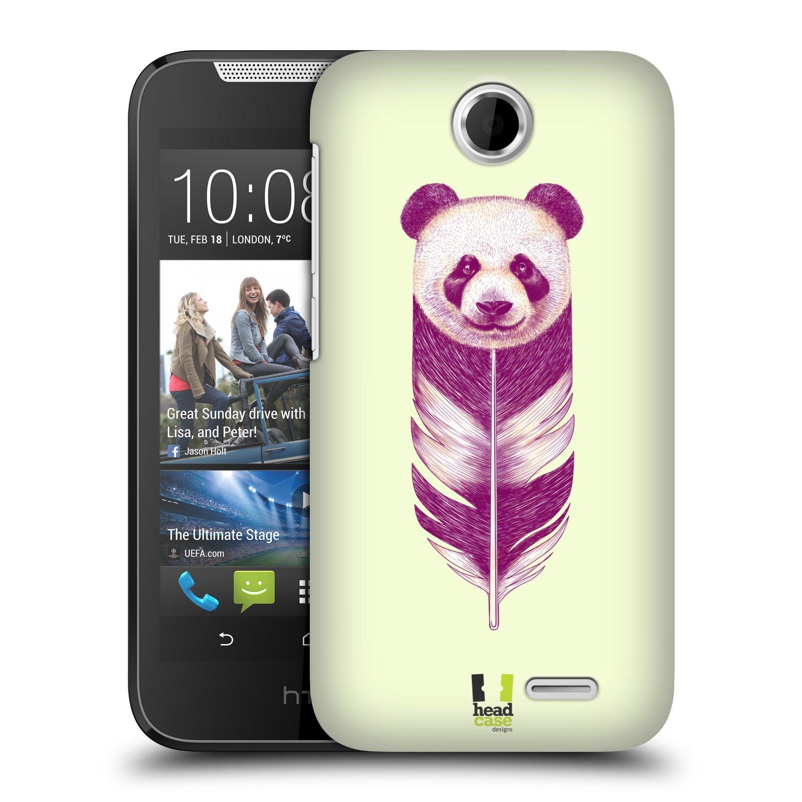 Plastové pouzdro na mobil HTC Desire 310 HEAD CASE PÍRKO PANDA (Kryt či obal na mobilní telefon HTC Desire 310)