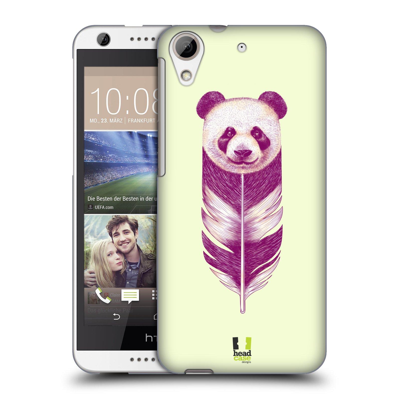 Plastové pouzdro na mobil HTC Desire 626 / 626G HEAD CASE PÍRKO PANDA (Kryt či obal na mobilní telefon HTC Desire 626G Dual SIM a HTC Desire 626)