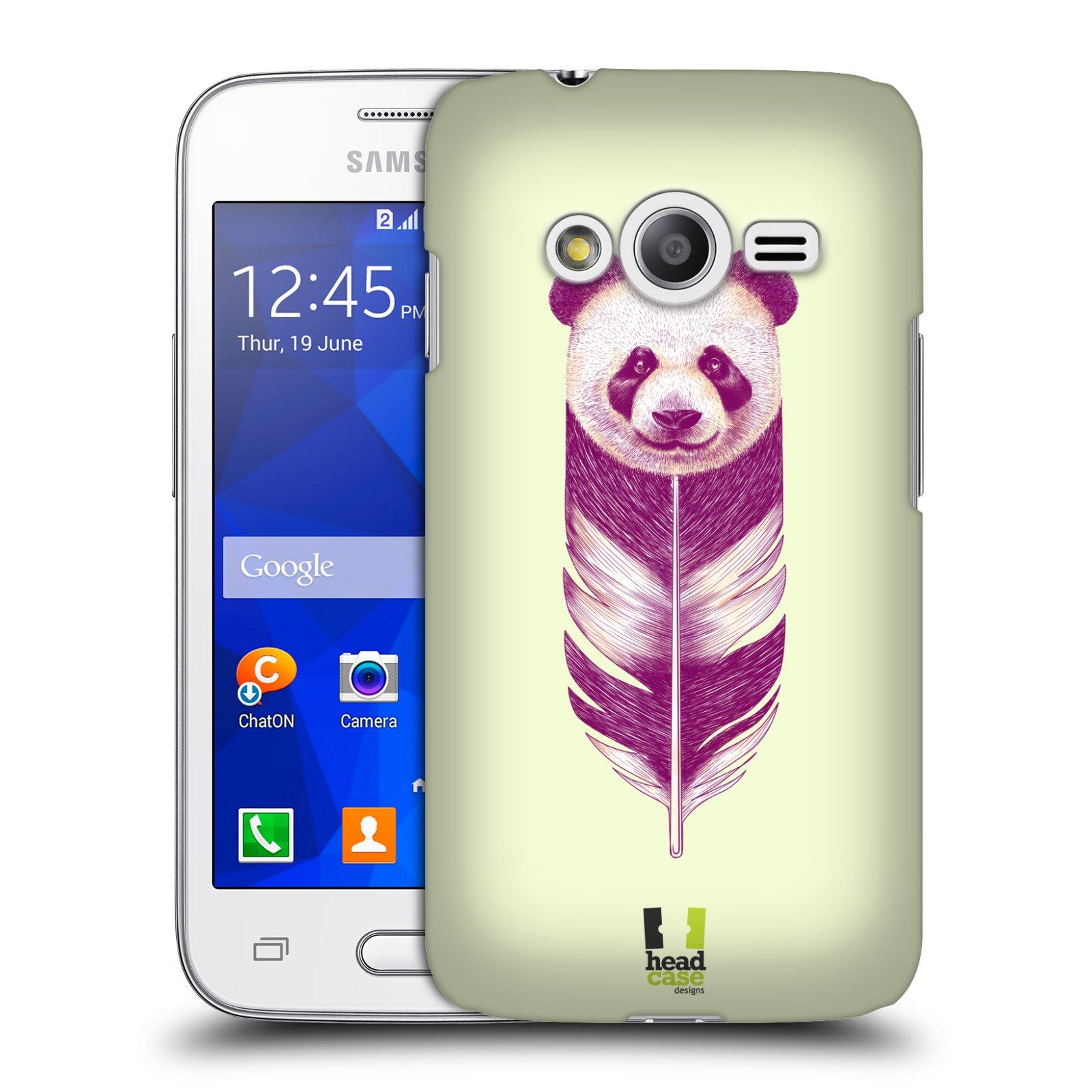 Plastové pouzdro na mobil Samsung Galaxy Trend 2 Lite HEAD CASE PÍRKO PANDA (Kryt či obal na mobilní telefon Samsung Galaxy Trend 2 Lite SM-G318)