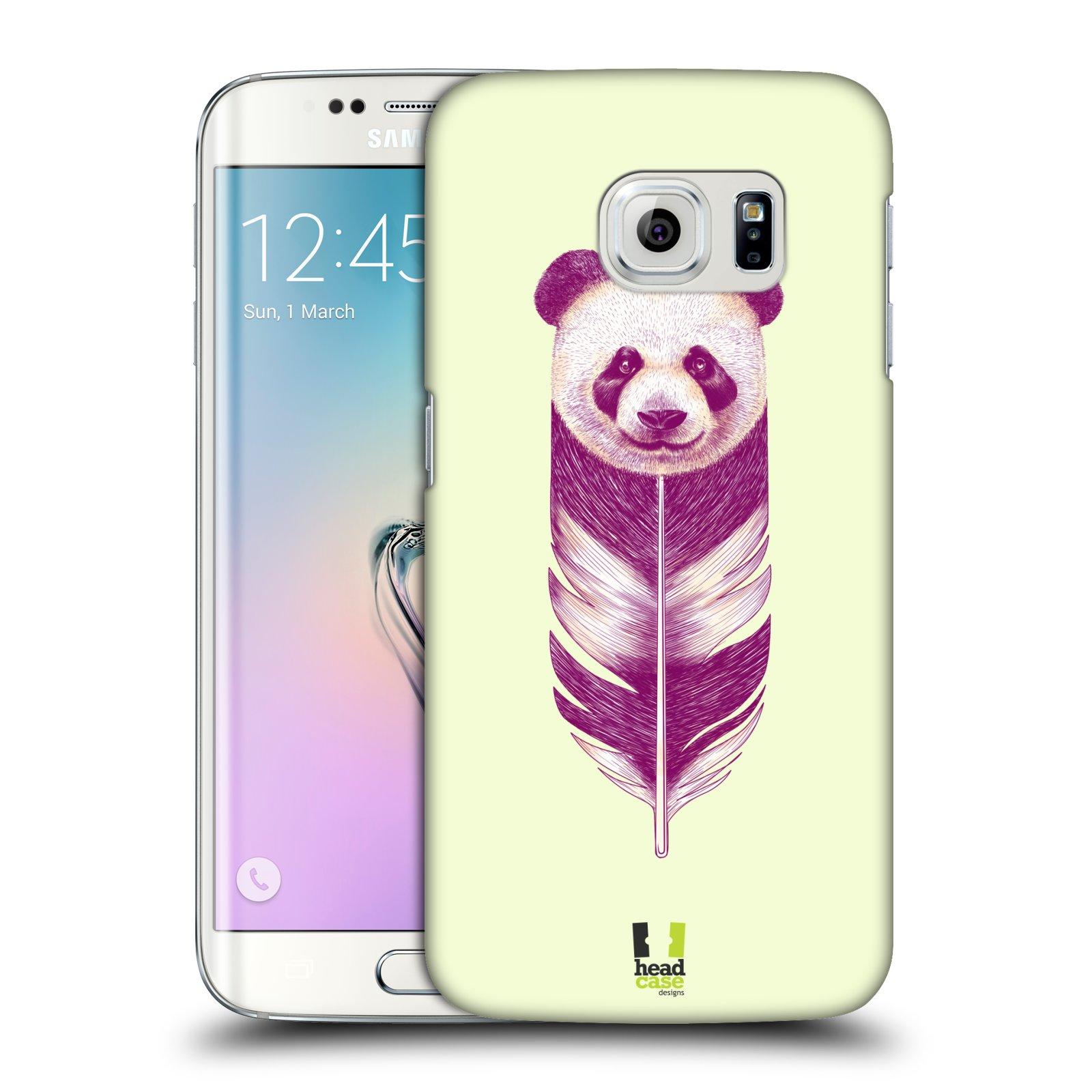 Plastové pouzdro na mobil Samsung Galaxy S6 Edge HEAD CASE PÍRKO PANDA (Kryt či obal na mobilní telefon Samsung Galaxy S6 Edge SM-G925F)