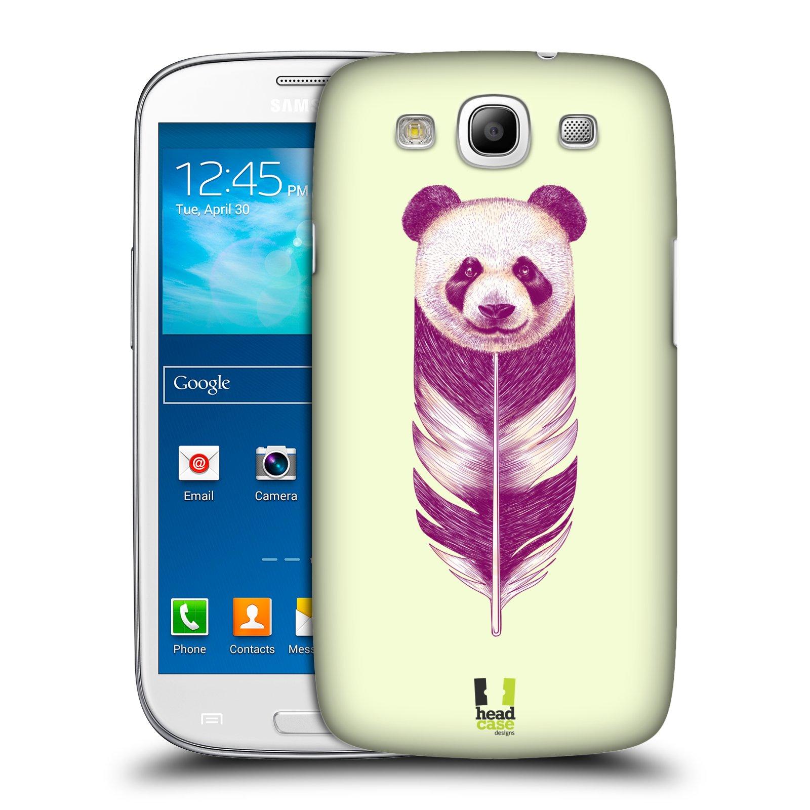Plastové pouzdro na mobil Samsung Galaxy S3 Neo HEAD CASE PÍRKO PANDA