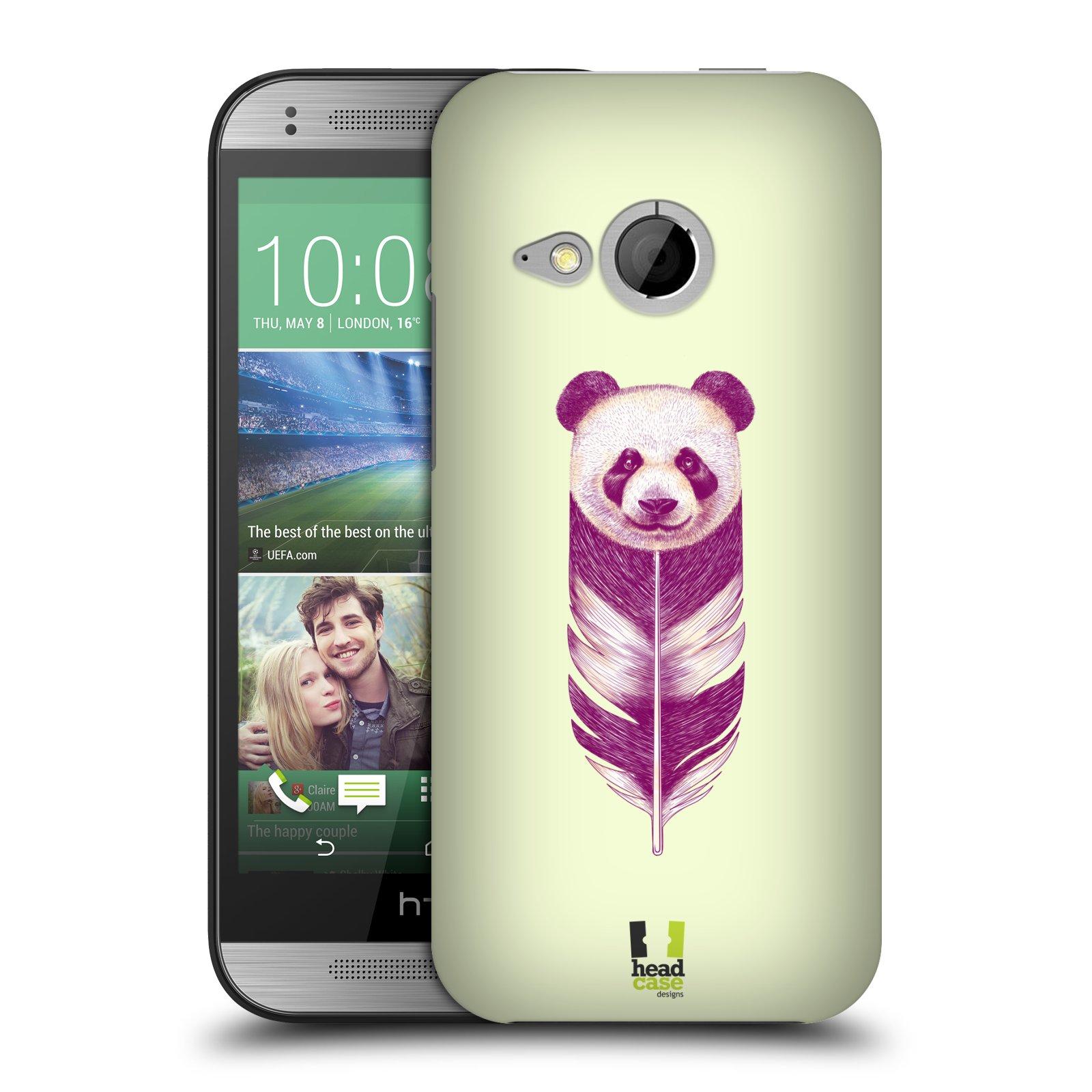 Plastové pouzdro na mobil HTC ONE Mini 2 HEAD CASE PÍRKO PANDA (Kryt či obal na mobilní telefon HTC ONE Mini 2)