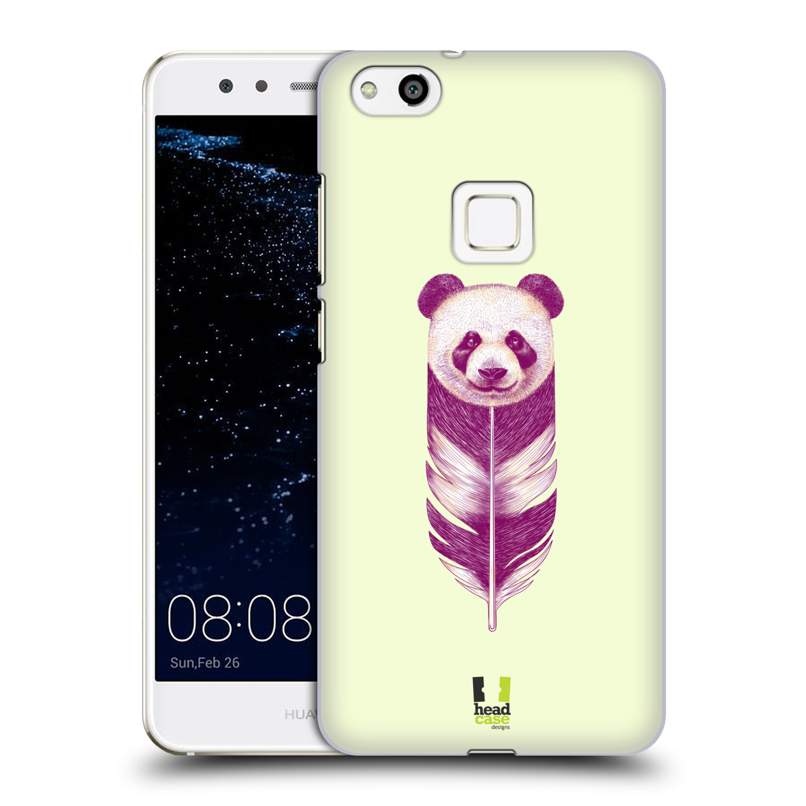 Plastové pouzdro na mobil Huawei P10 Lite Head Case - PÍRKO PANDA (Plastový kryt či obal na mobilní telefon Huawei P10 Lite Dual SIM (LX1/LX1A))