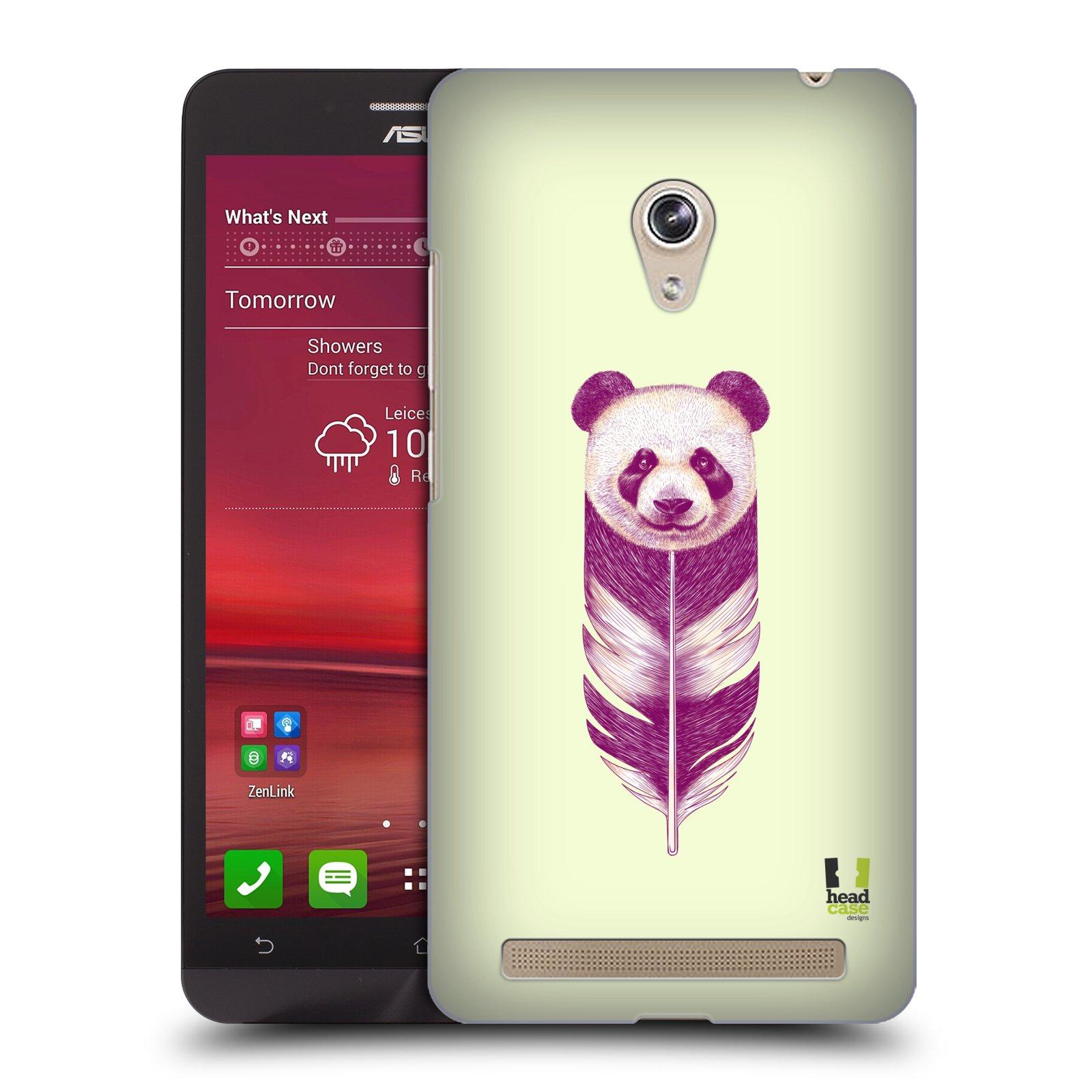 Plastové pouzdro na mobil Asus Zenfone 6 HEAD CASE PÍRKO PANDA (Kryt či obal na mobilní telefon Asus Zenfone 6 A600CG / A601CG)