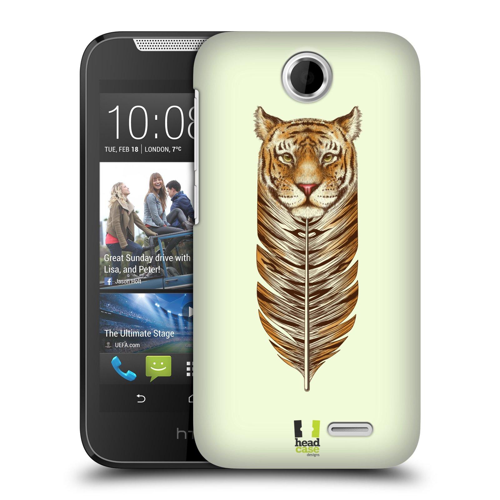 Plastové pouzdro na mobil HTC Desire 310 HEAD CASE PÍRKO TYGR (Kryt či obal na mobilní telefon HTC Desire 310)