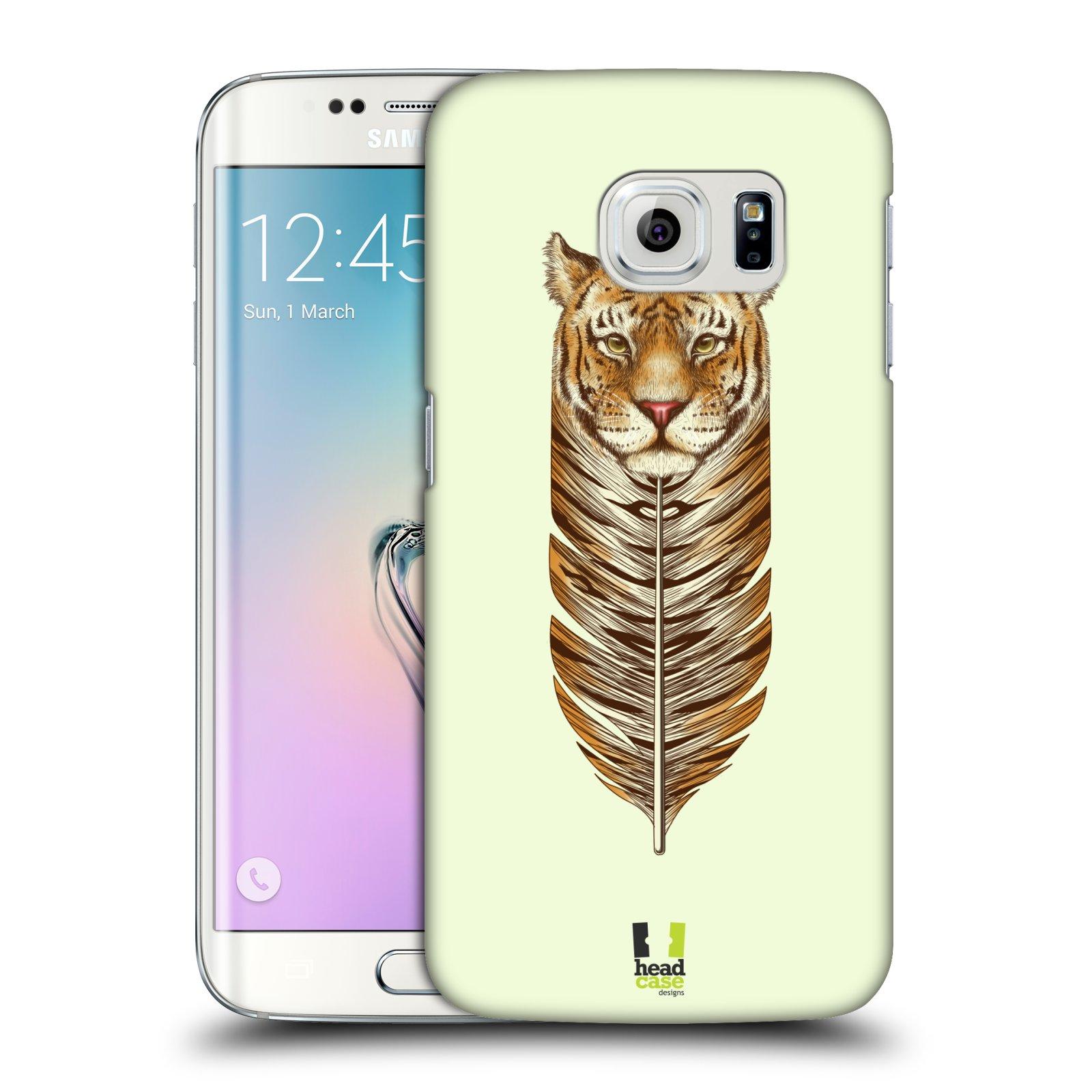 Plastové pouzdro na mobil Samsung Galaxy S6 Edge HEAD CASE PÍRKO TYGR (Kryt či obal na mobilní telefon Samsung Galaxy S6 Edge SM-G925F)