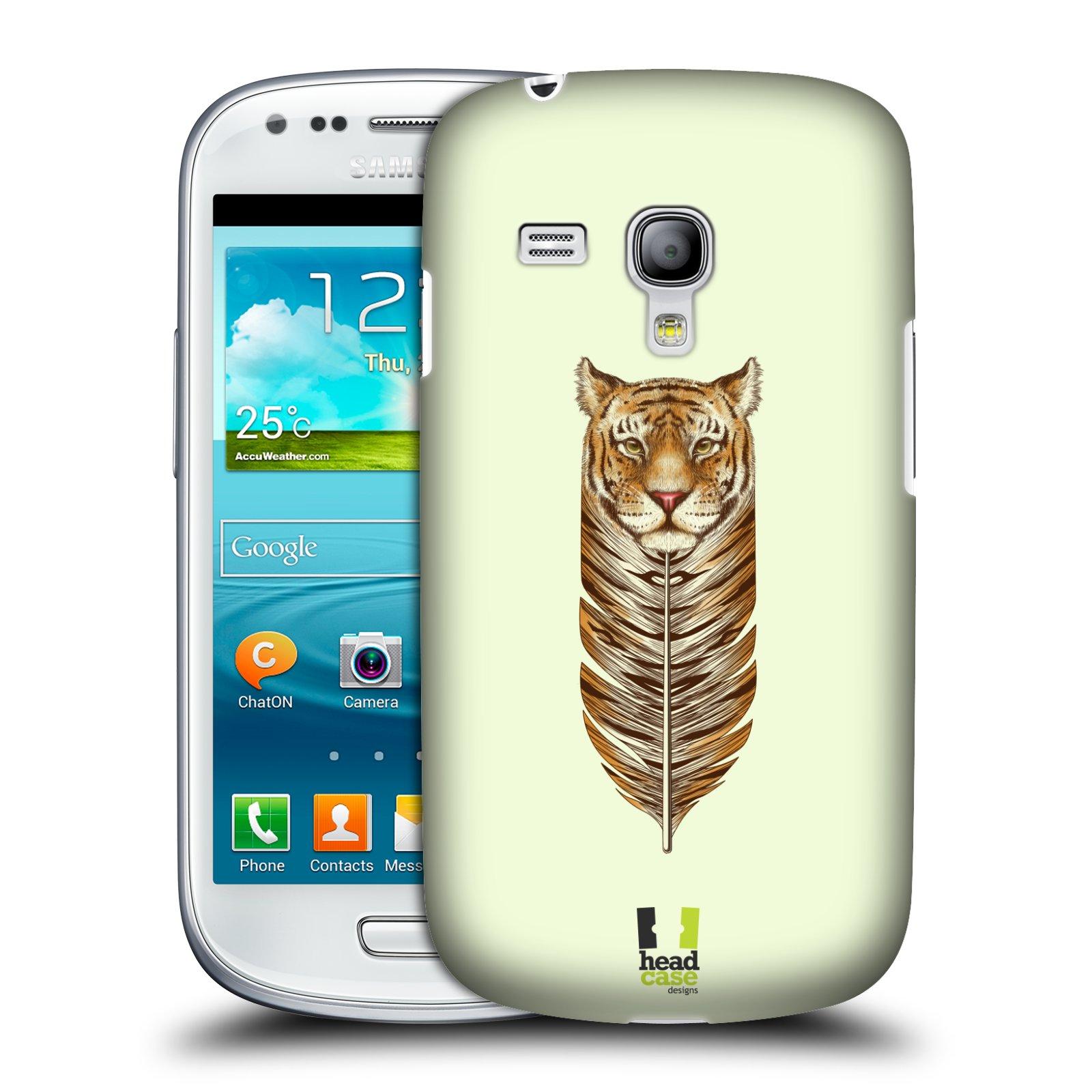 Plastové pouzdro na mobil Samsung Galaxy S III Mini HEAD CASE PÍRKO TYGR (Kryt či obal na mobilní telefon Samsung Galaxy S III Mini GT-i8190)
