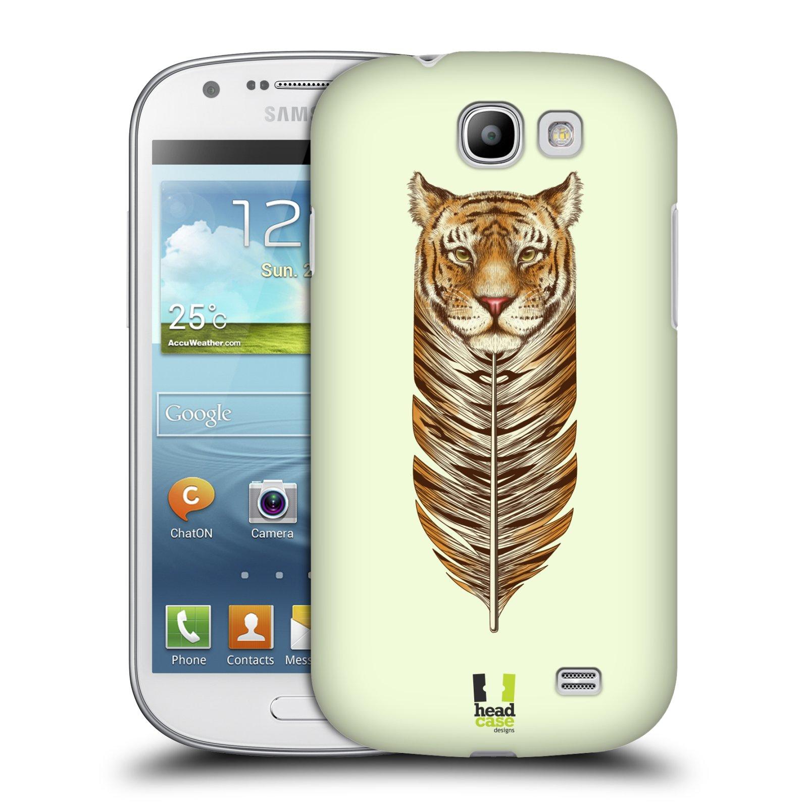 Plastové pouzdro na mobil Samsung Galaxy Express HEAD CASE PÍRKO TYGR (Kryt či obal na mobilní telefon Samsung Galaxy Express GT-i8730)