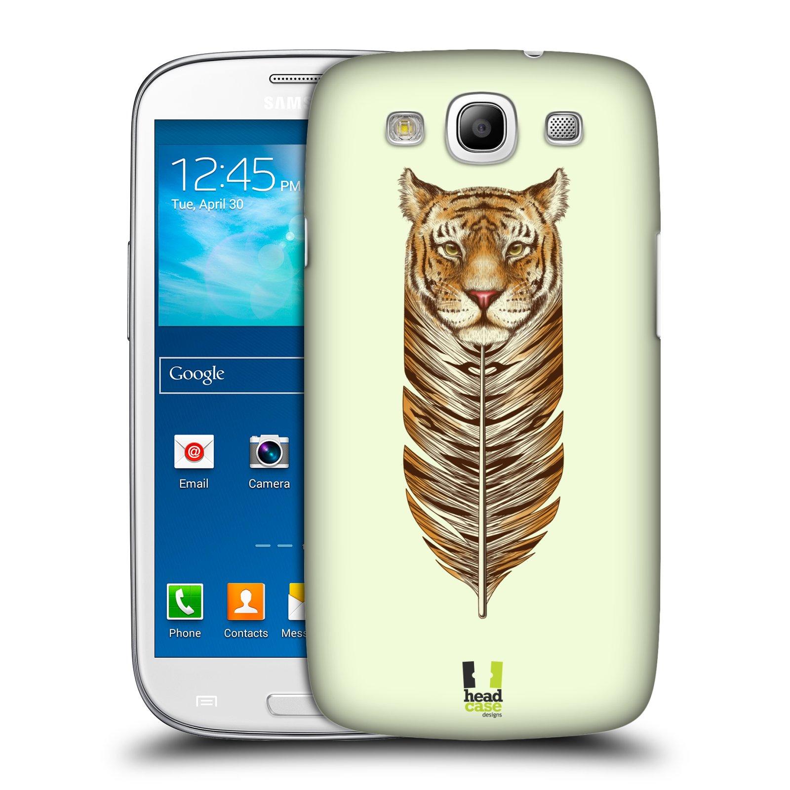 Plastové pouzdro na mobil Samsung Galaxy S3 Neo HEAD CASE PÍRKO TYGR