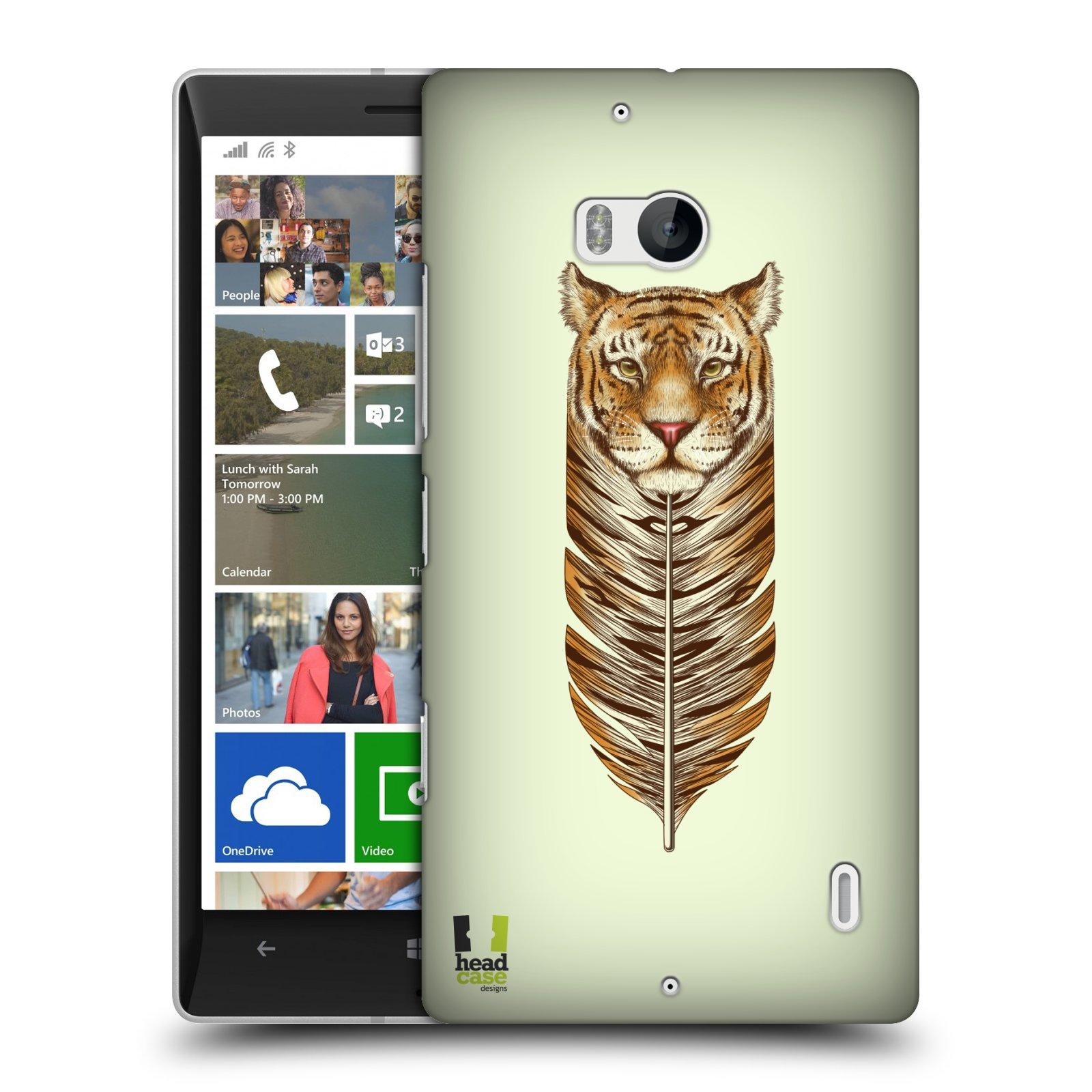 Plastové pouzdro na mobil Nokia Lumia 930 HEAD CASE PÍRKO TYGR (Kryt či obal na mobilní telefon Nokia Lumia 930)