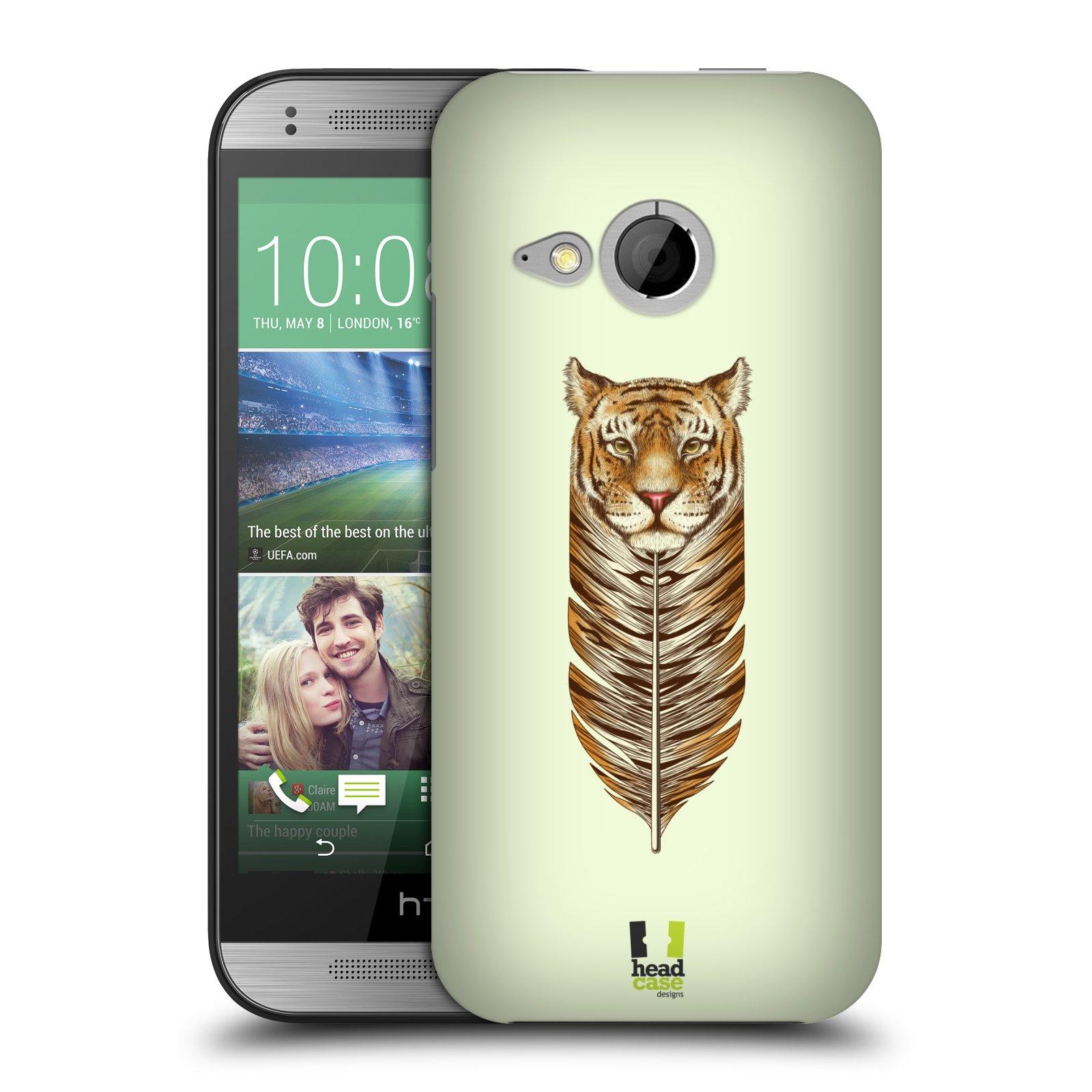 Plastové pouzdro na mobil HTC ONE Mini 2 HEAD CASE PÍRKO TYGR (Kryt či obal na mobilní telefon HTC ONE Mini 2)