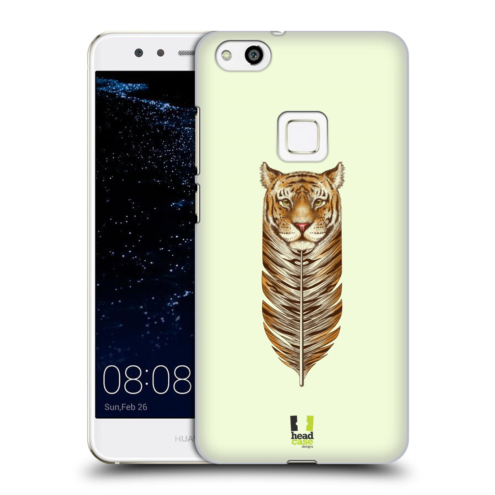 Plastové pouzdro na mobil Huawei P10 Lite Head Case - PÍRKO TYGR (Plastový kryt či obal na mobilní telefon Huawei P10 Lite Dual SIM (LX1/LX1A))