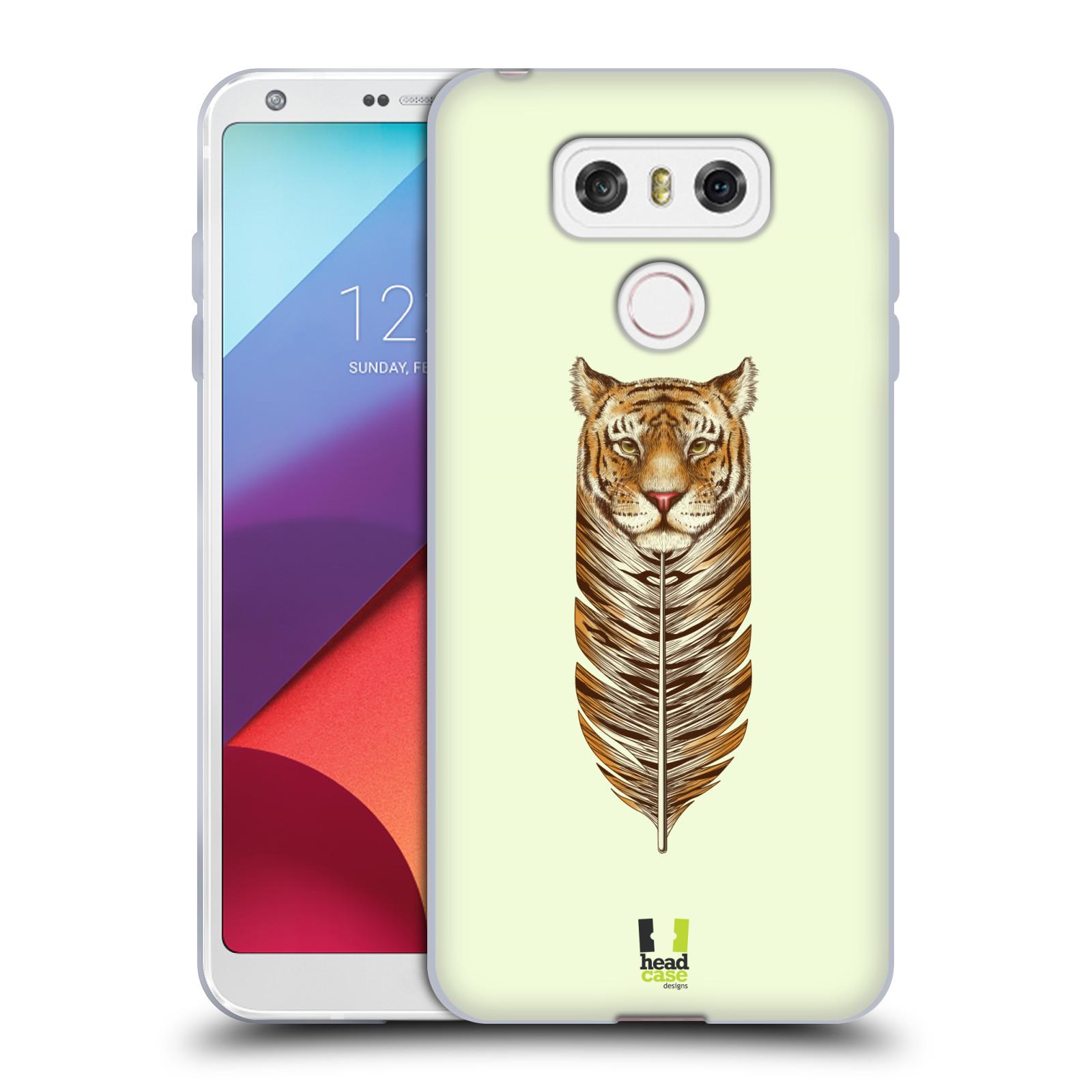 Silikonové pouzdro na mobil LG G6 - Head Case PÍRKO TYGR (Silikonový kryt či obal na mobilní telefon LG G6 H870 / LG G6 Dual SIM H870DS)