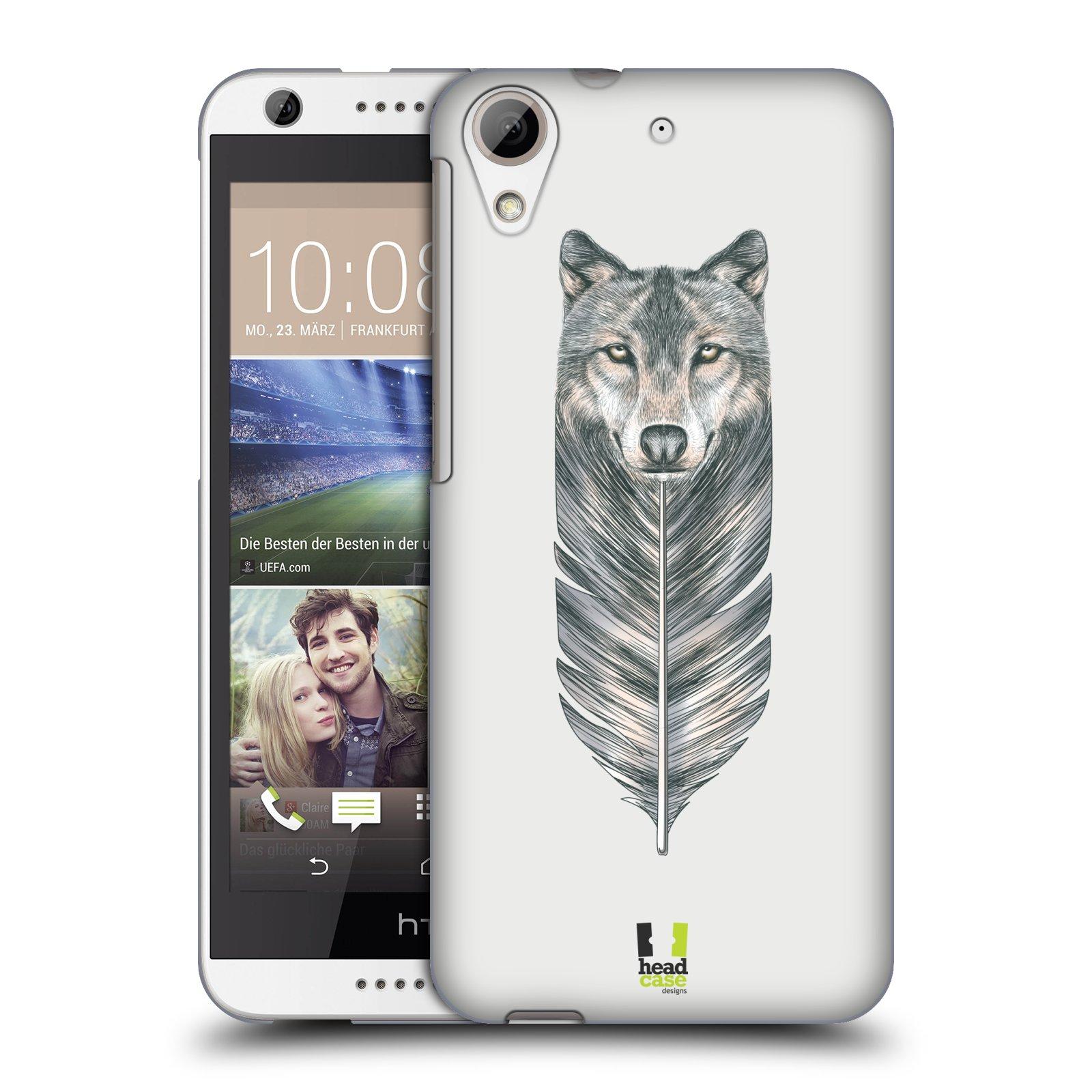 Plastové pouzdro na mobil HTC Desire 626 / 626G HEAD CASE PÍRKO VLK (Kryt či obal na mobilní telefon HTC Desire 626G Dual SIM a HTC Desire 626)