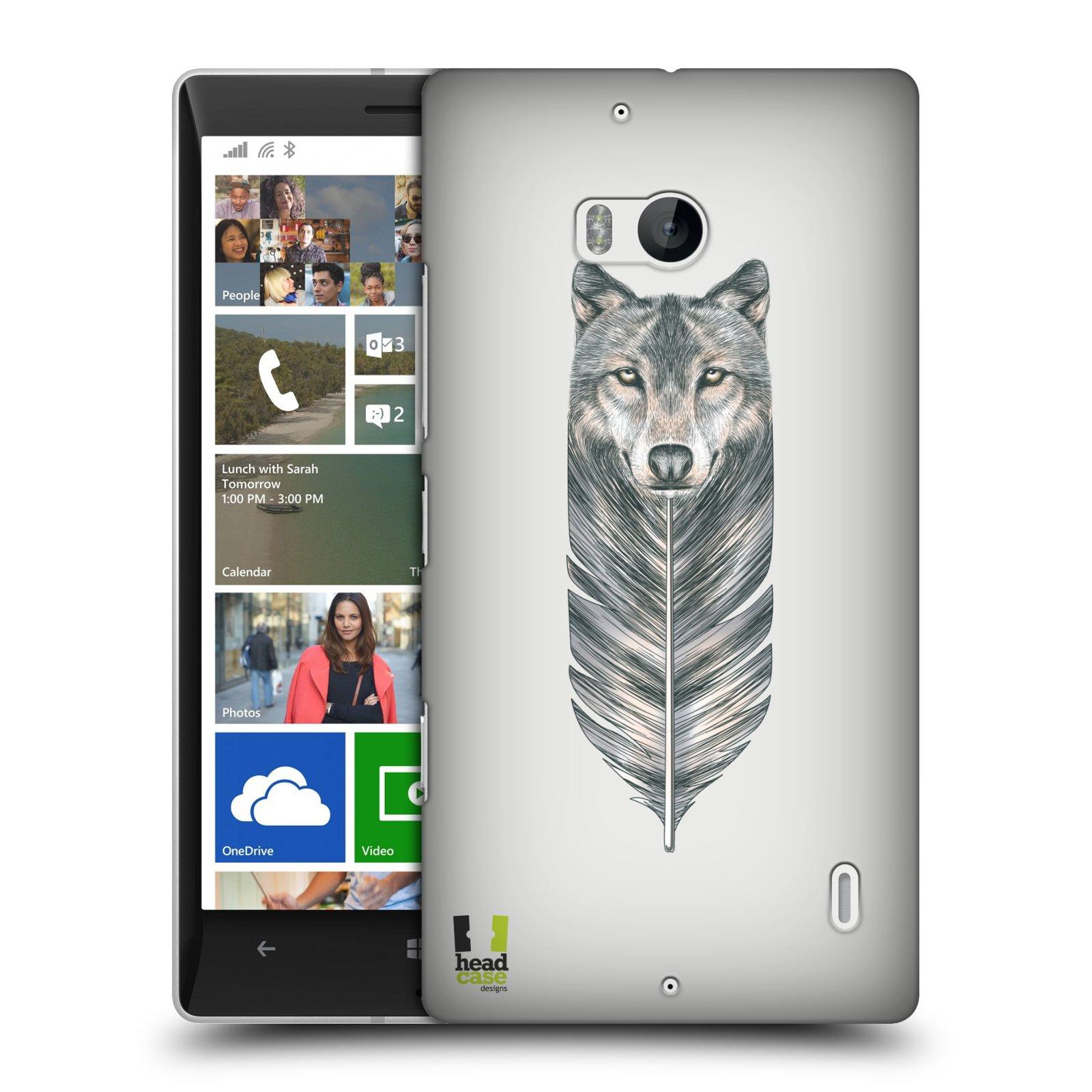 Plastové pouzdro na mobil Nokia Lumia 930 HEAD CASE PÍRKO VLK (Kryt či obal na mobilní telefon Nokia Lumia 930)