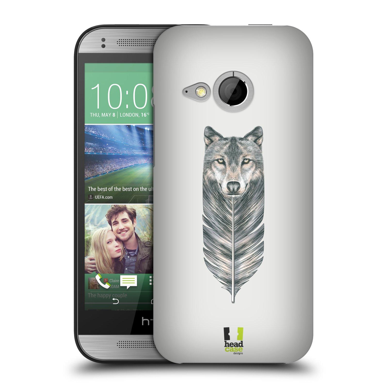 Plastové pouzdro na mobil HTC ONE Mini 2 HEAD CASE PÍRKO VLK (Kryt či obal na mobilní telefon HTC ONE Mini 2)