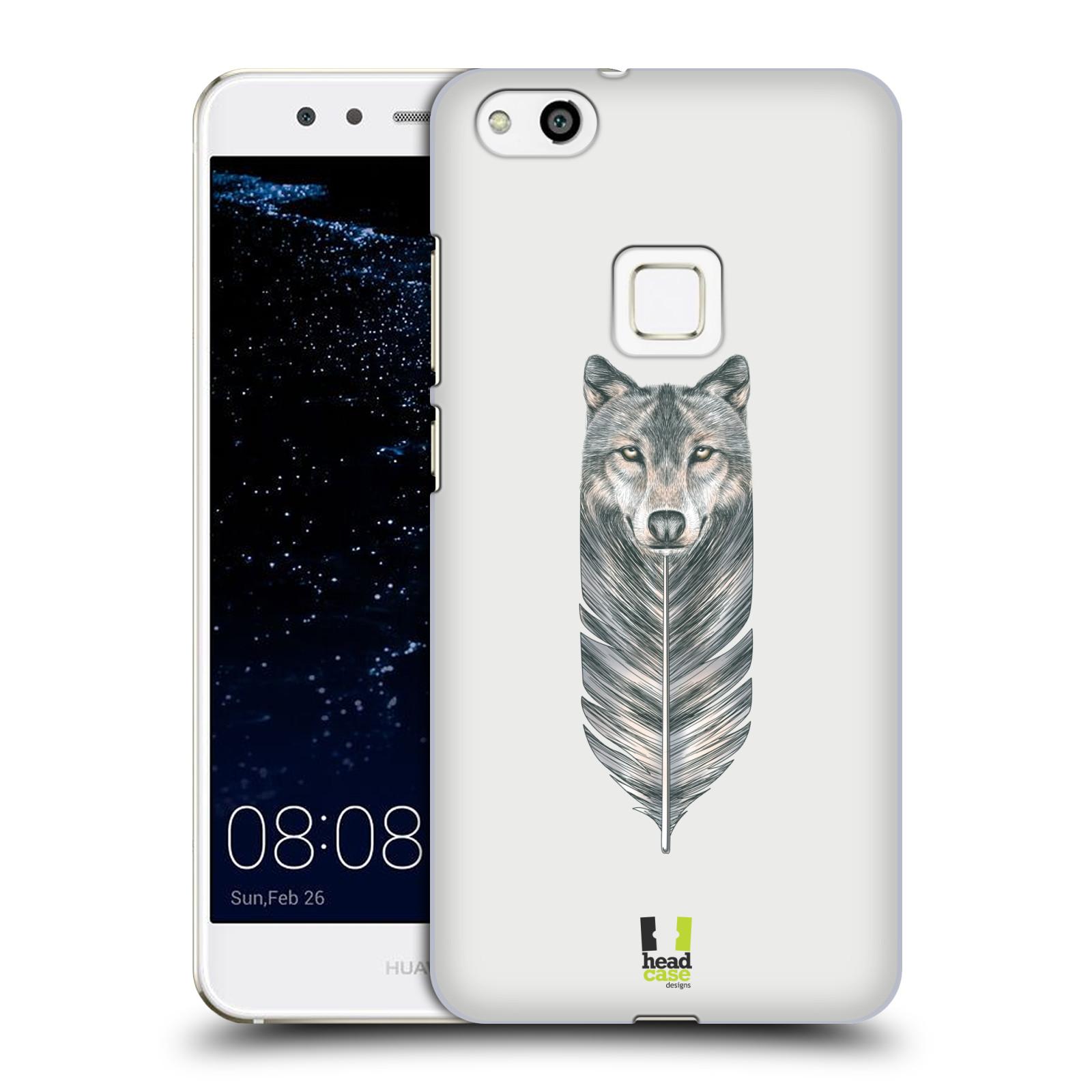 Plastové pouzdro na mobil Huawei P10 Lite Head Case - PÍRKO VLK (Plastový kryt či obal na mobilní telefon Huawei P10 Lite Dual SIM (LX1/LX1A))