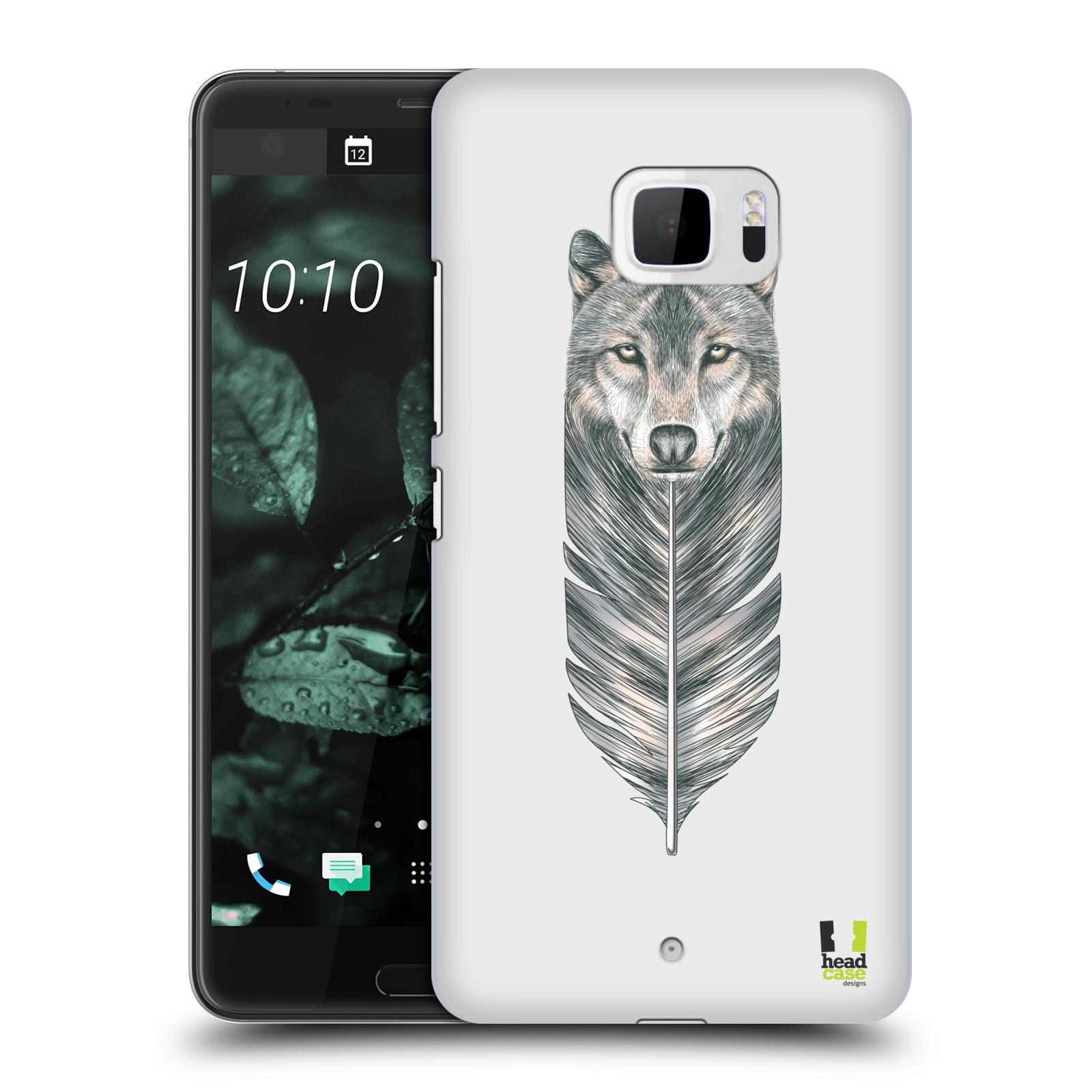 Plastové pouzdro na mobil HTC U Ultra Head Case - PÍRKO VLK (Plastový kryt či obal na mobilní telefon HTC U Ultra (99HALT015-00))