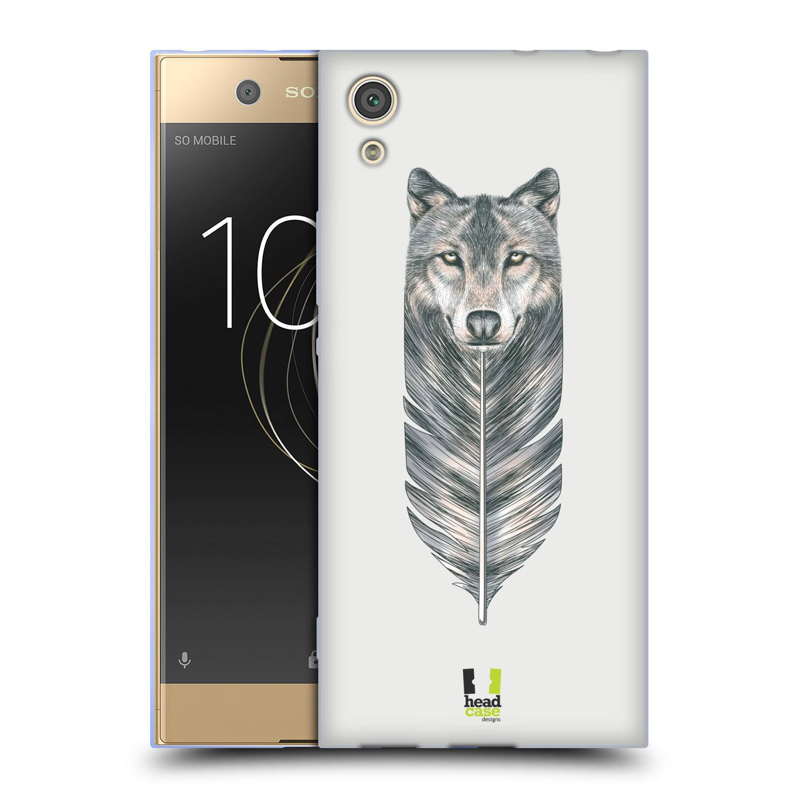 Silikonové pouzdro na mobil Sony Xperia XA1 - Head Case - PÍRKO VLK (Silikonový kryt či obal na mobilní telefon Sony Xperia XA1 G3121 s motivem PÍRKO VLK)