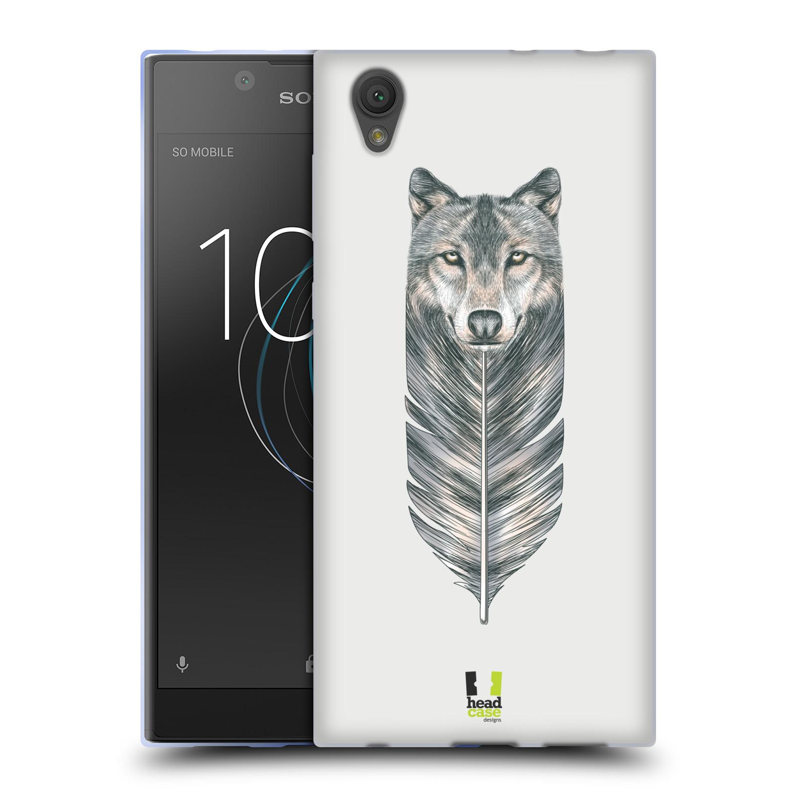 Silikonové pouzdro na mobil Sony Xperia L1 - Head Case - PÍRKO VLK (Silikonový kryt či obal na mobilní telefon Sony Xperia L1 G3311 s motivem PÍRKO VLK)