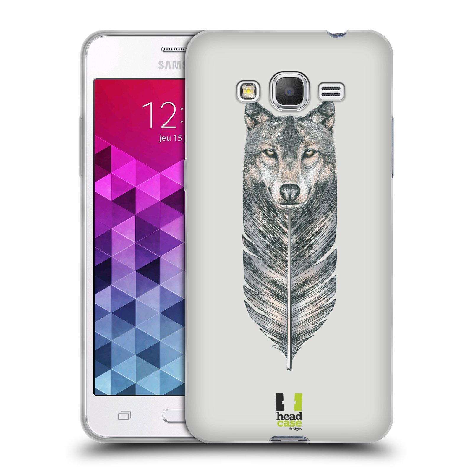 Silikonové pouzdro na mobil Samsung Galaxy Grand Prime VE HEAD CASE PÍRKO VLK (Silikonový kryt či obal na mobilní telefon Samsung Galaxy Grand Prime VE SM-G531F)