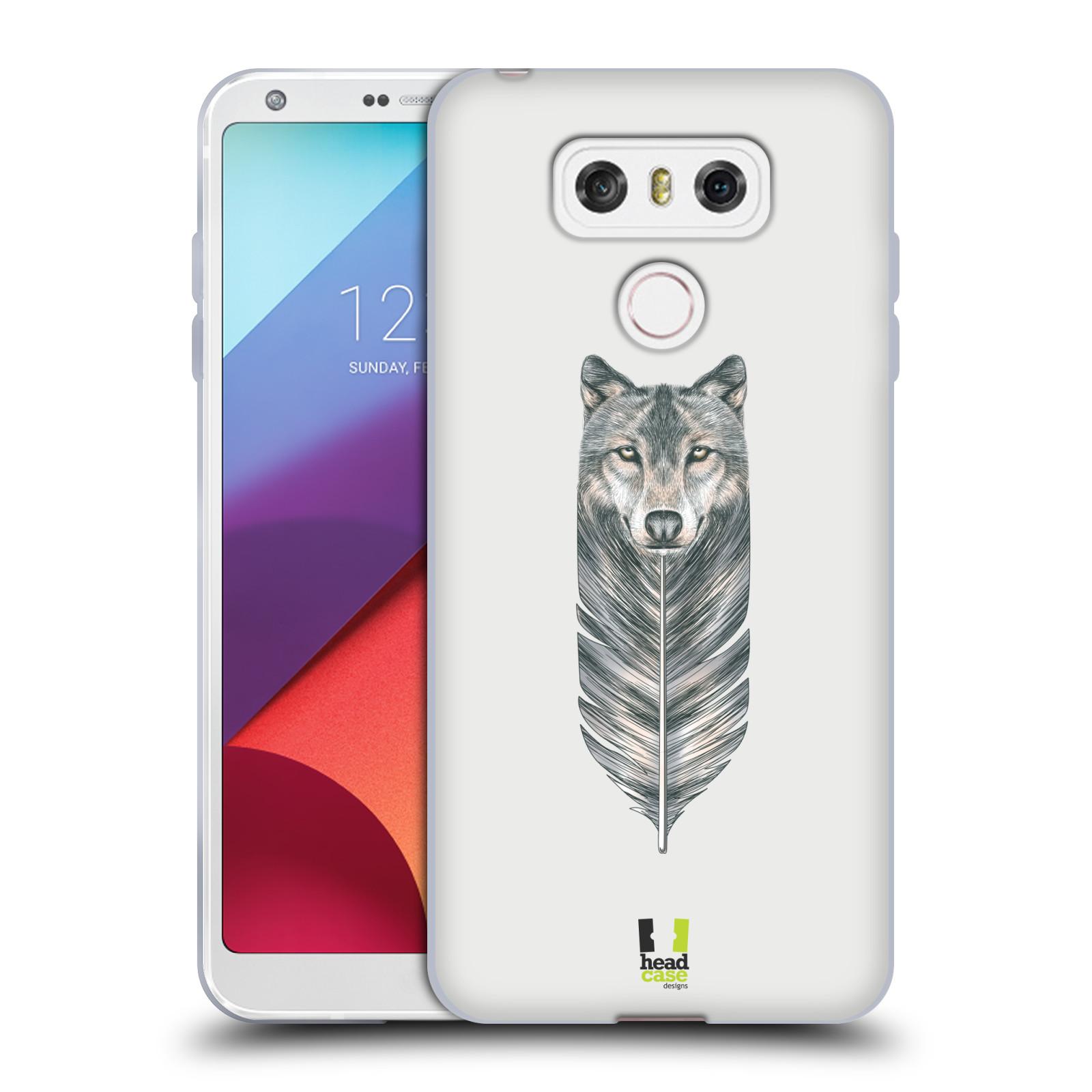 Silikonové pouzdro na mobil LG G6 - Head Case PÍRKO VLK (Silikonový kryt či obal na mobilní telefon LG G6 H870 / LG G6 Dual SIM H870DS)