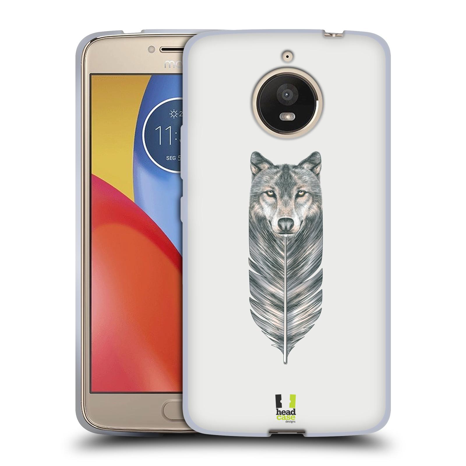 Silikonové pouzdro na mobil Lenovo Moto E4 Plus - Head Case - PÍRKO VLK (Silikonový kryt či obal na mobilní telefon Lenovo Moto E4 Plus s motivem PÍRKO VLK)