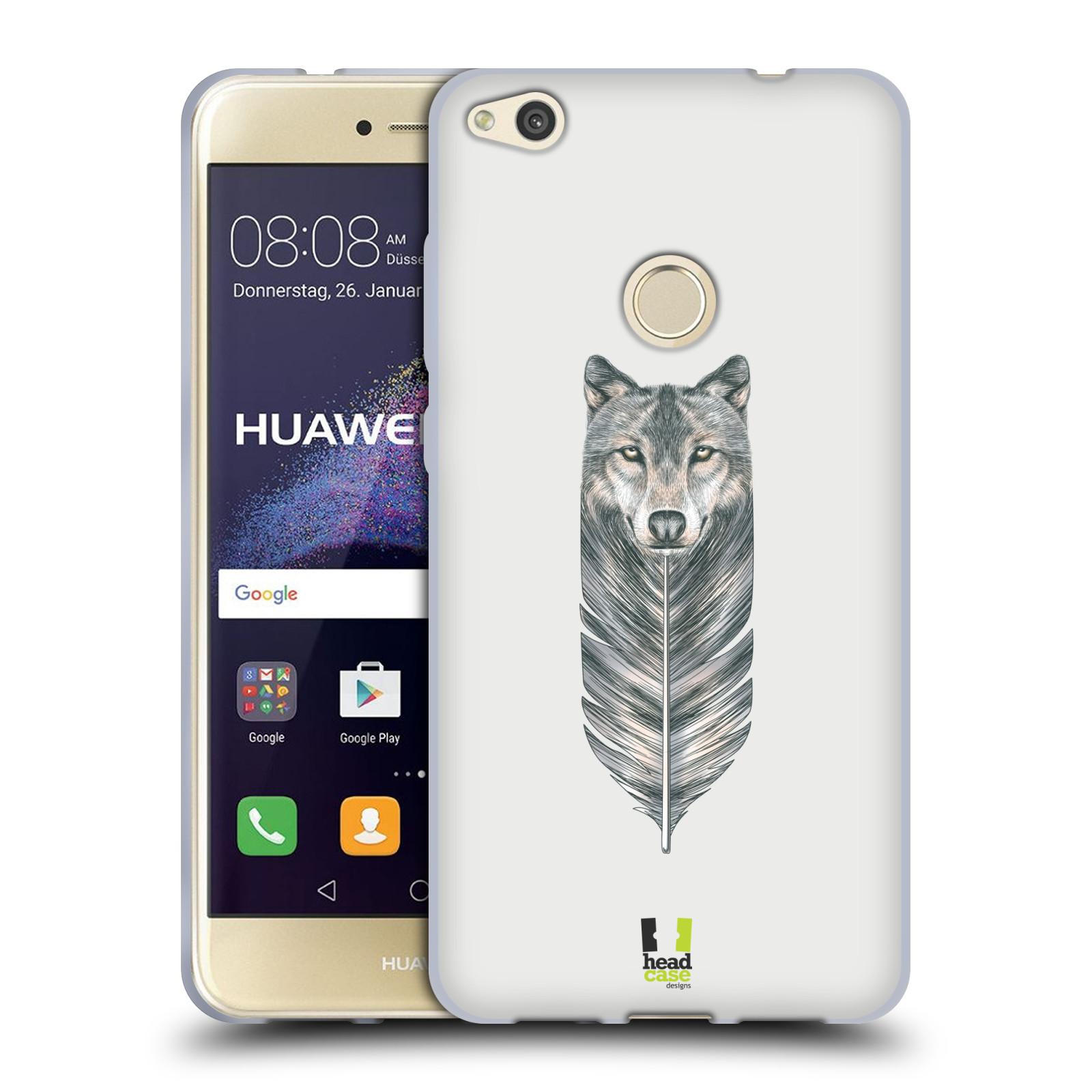 Silikonové pouzdro na mobil Honor 8 Lite - Head Case - PÍRKO VLK (Silikonový kryt či obal na mobilní telefon Honor 8 Lite s motivem PÍRKO VLK)