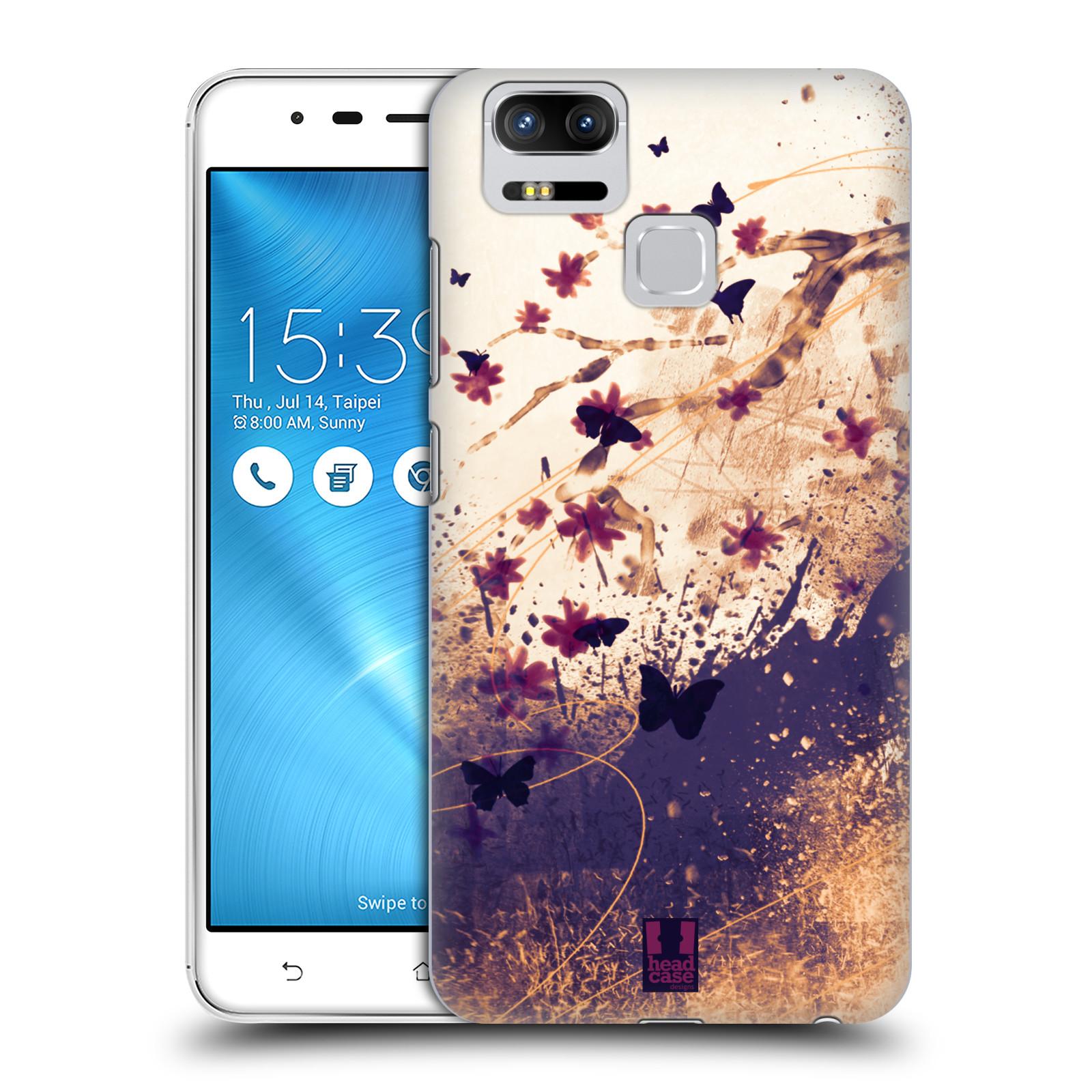 Plastové pouzdro na mobil Asus ZenFone 3 ZOOM ZE553KL - Head Case - MOTÝLCI (Plastový kryt či obal na mobilní telefon Asus ZenFone 3 ZOOM ZE553KL s motivem MOTÝLCI)