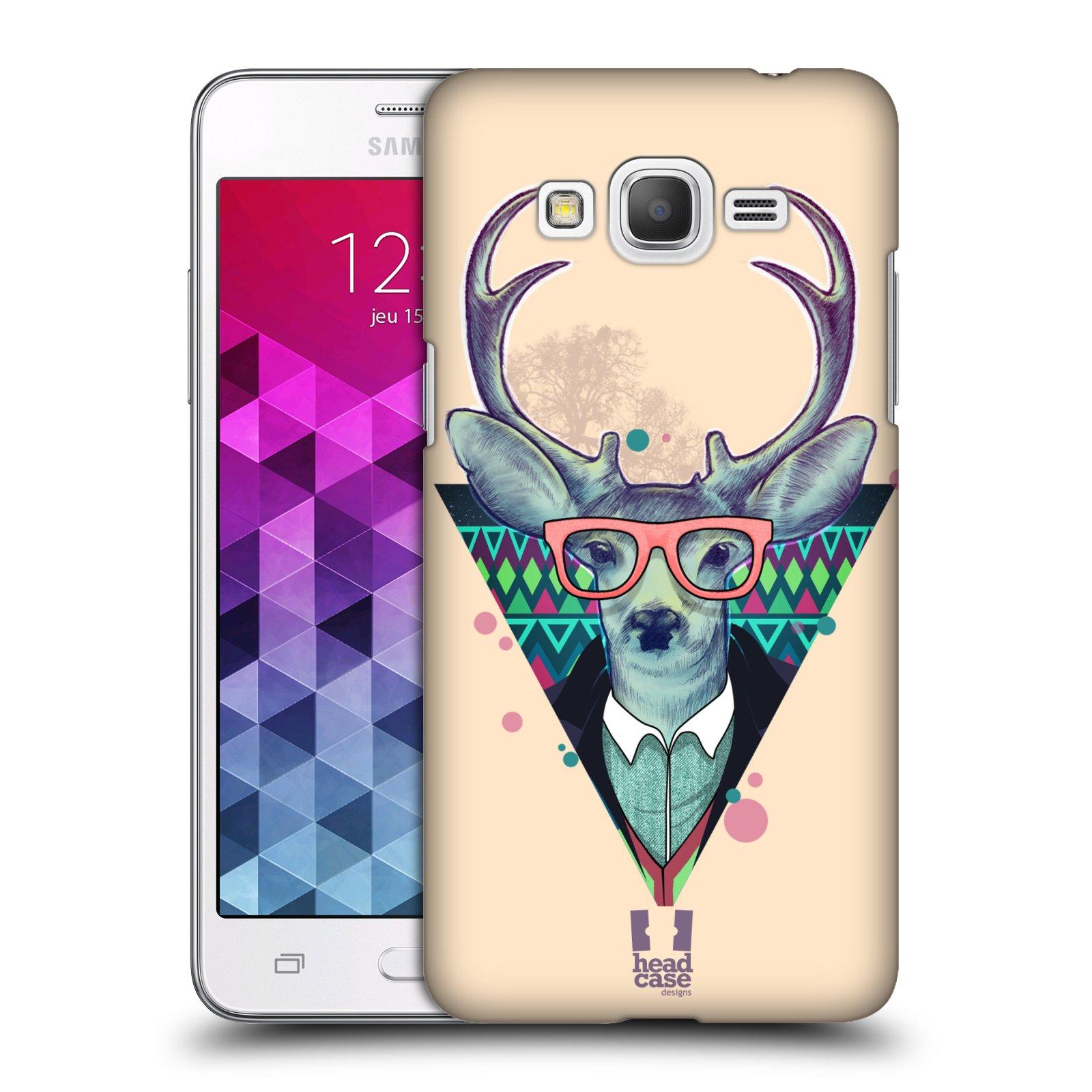Plastové pouzdro na mobil Samsung Galaxy Grand Prime HEAD CASE HIPSTR JELEN