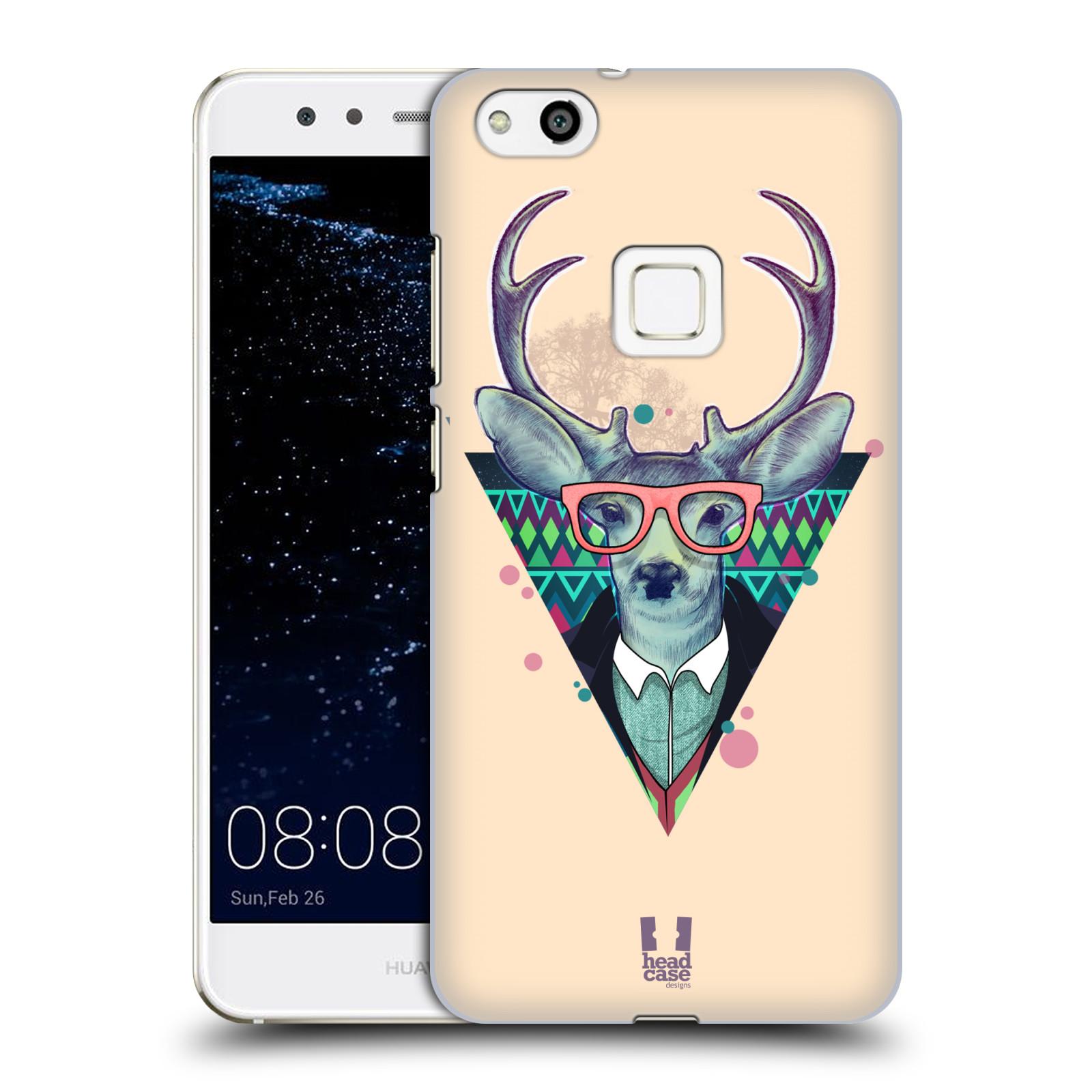 Plastové pouzdro na mobil Huawei P10 Lite Head Case - HIPSTR JELEN (Plastový kryt či obal na mobilní telefon Huawei P10 Lite Dual SIM (LX1/LX1A))