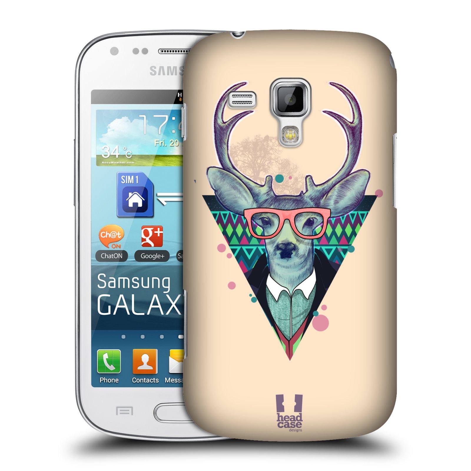 Plastové pouzdro na mobil Samsung Galaxy Trend Plus HEAD CASE HIPSTR JELEN