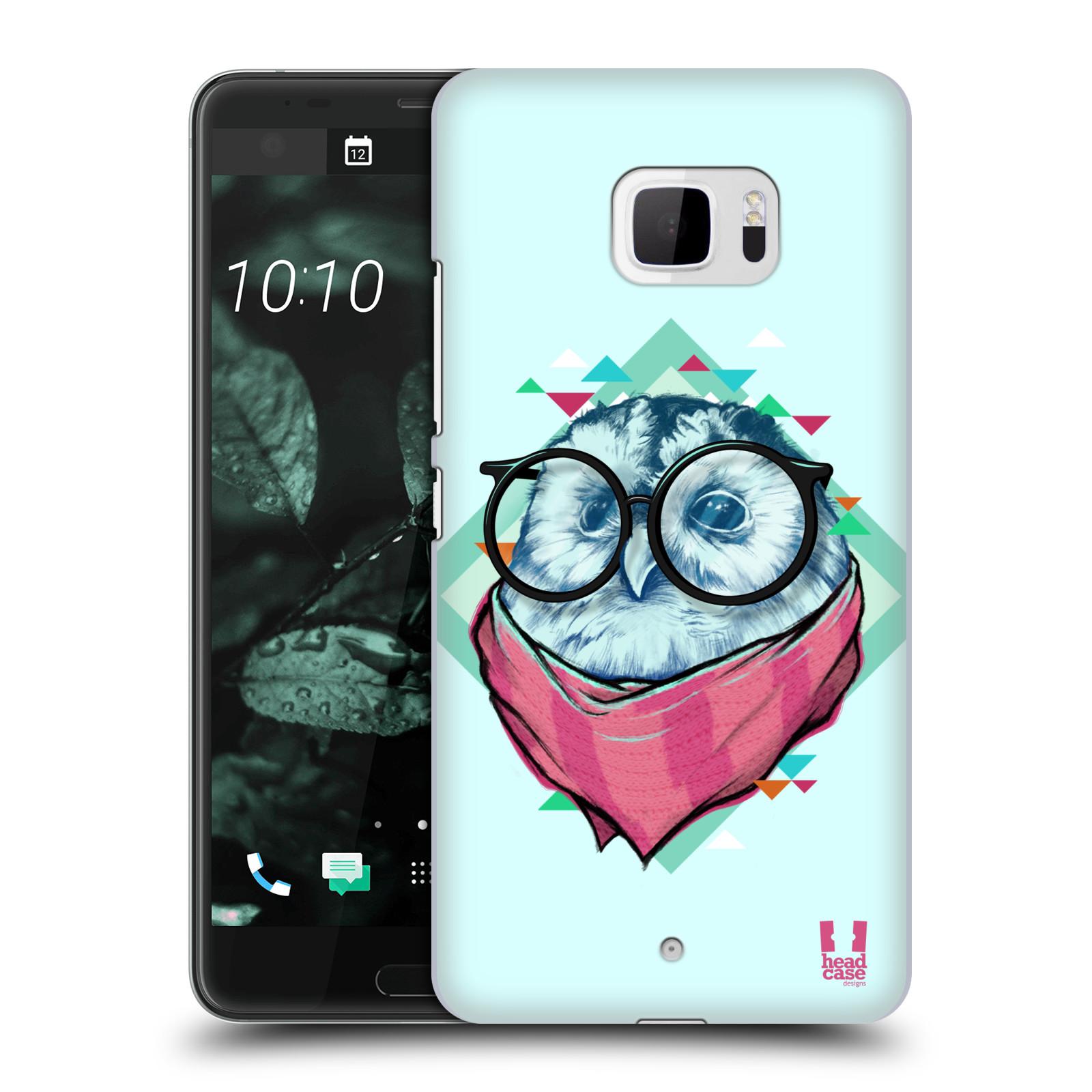 Plastové pouzdro na mobil HTC U Ultra Head Case - HIPSTR SOVA (Plastový kryt či obal na mobilní telefon HTC U Ultra (99HALT015-00))