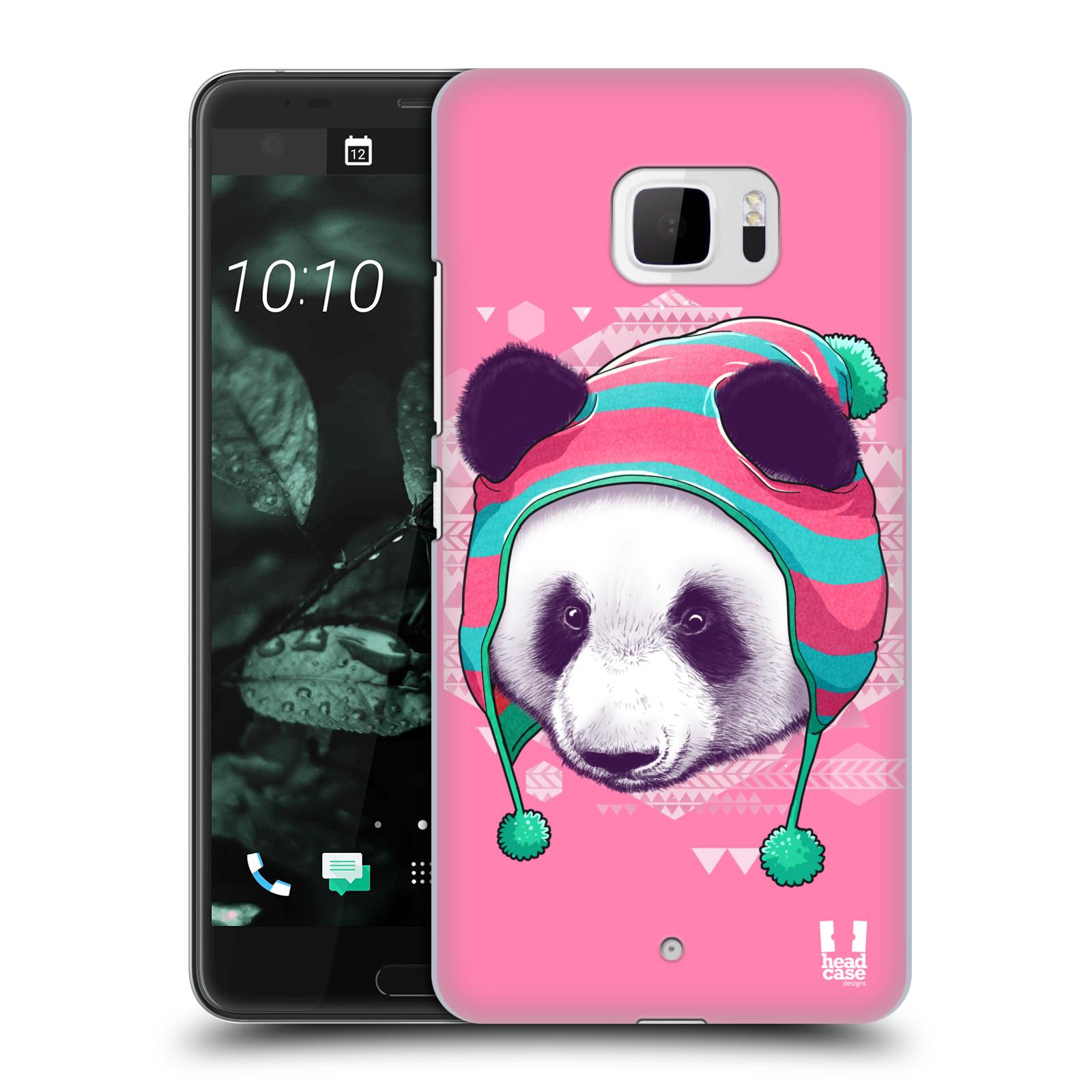 Plastové pouzdro na mobil HTC U Ultra Head Case - HIPSTR PANDA (Plastový kryt či obal na mobilní telefon HTC U Ultra (99HALT015-00))