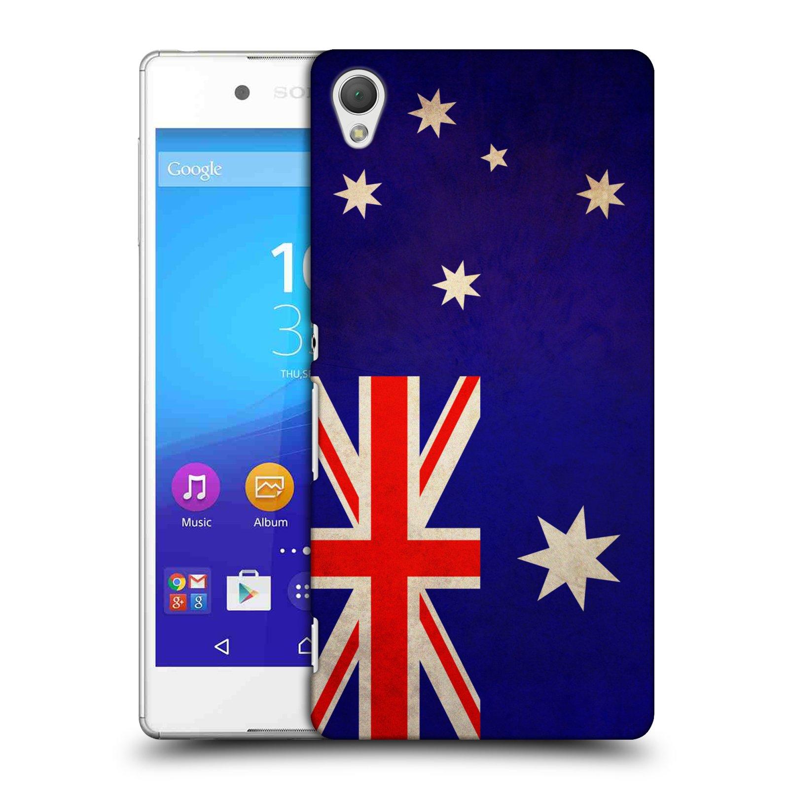 Plastové pouzdro na mobil Sony Xperia Z3+ (Plus) HEAD CASE VLAJKA AUSTRÁLIE (Kryt či obal na mobilní telefon Sony Xperia Z3+ a Sony Xperia Z4 )