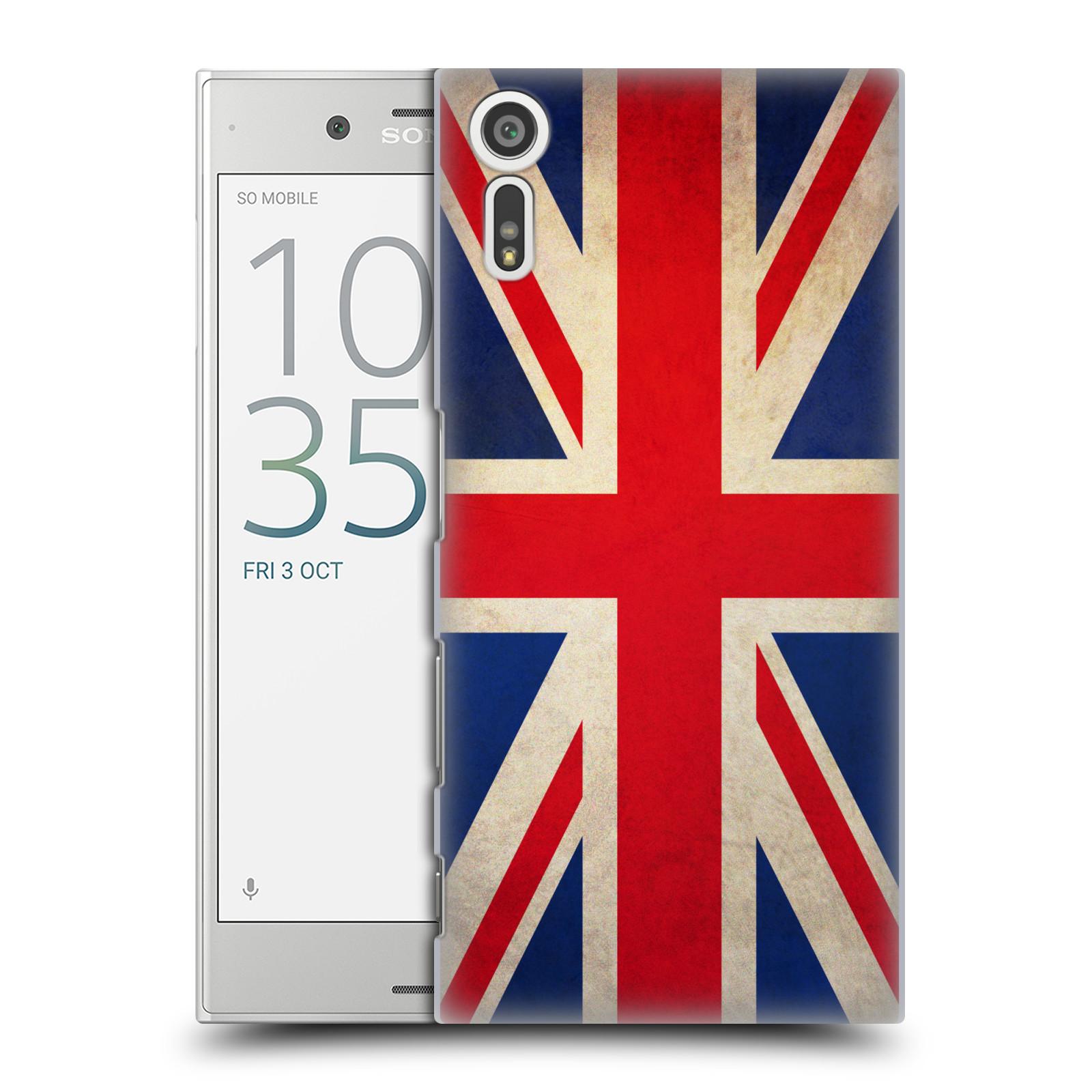 Plastové pouzdro na mobil Sony Xperia XZ - Head Case VLAJKA VELKÁ BRITÁNIE