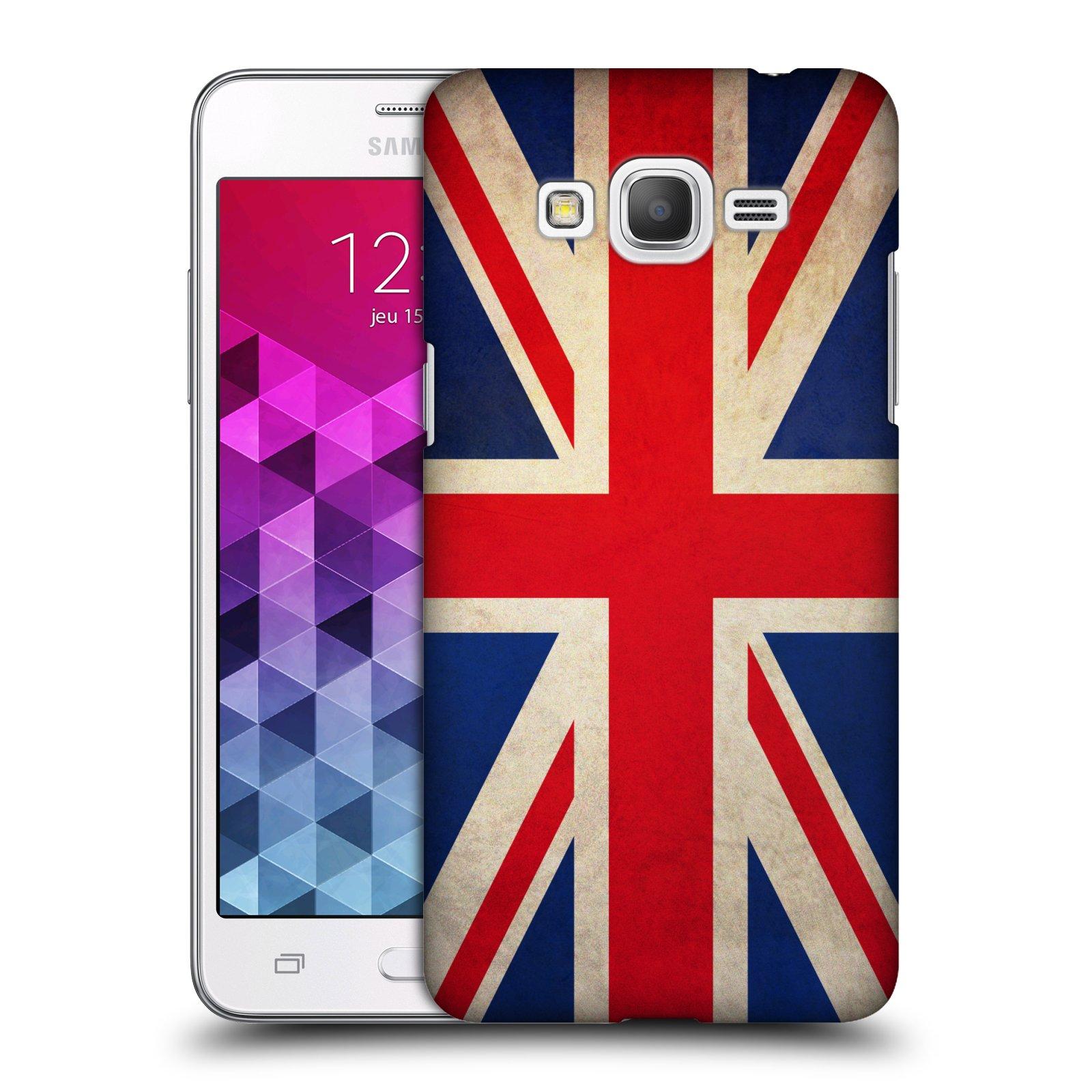 Plastové pouzdro na mobil Samsung Galaxy Grand Prime VE HEAD CASE VLAJKA VELKÁ BRITÁNIE