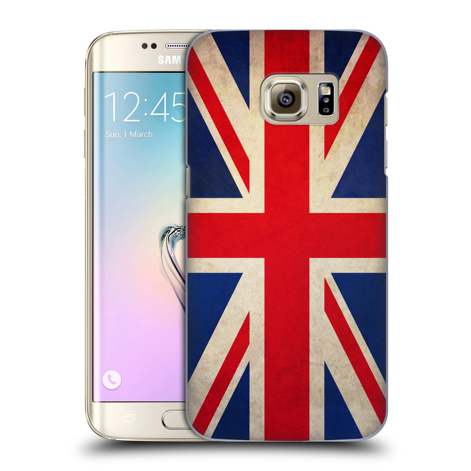 Plastové pouzdro na mobil Samsung Galaxy S7 Edge HEAD CASE VLAJKA VELKÁ BRITÁNIE (Kryt či obal na mobilní telefon Samsung Galaxy S7 Edge SM-G935F)