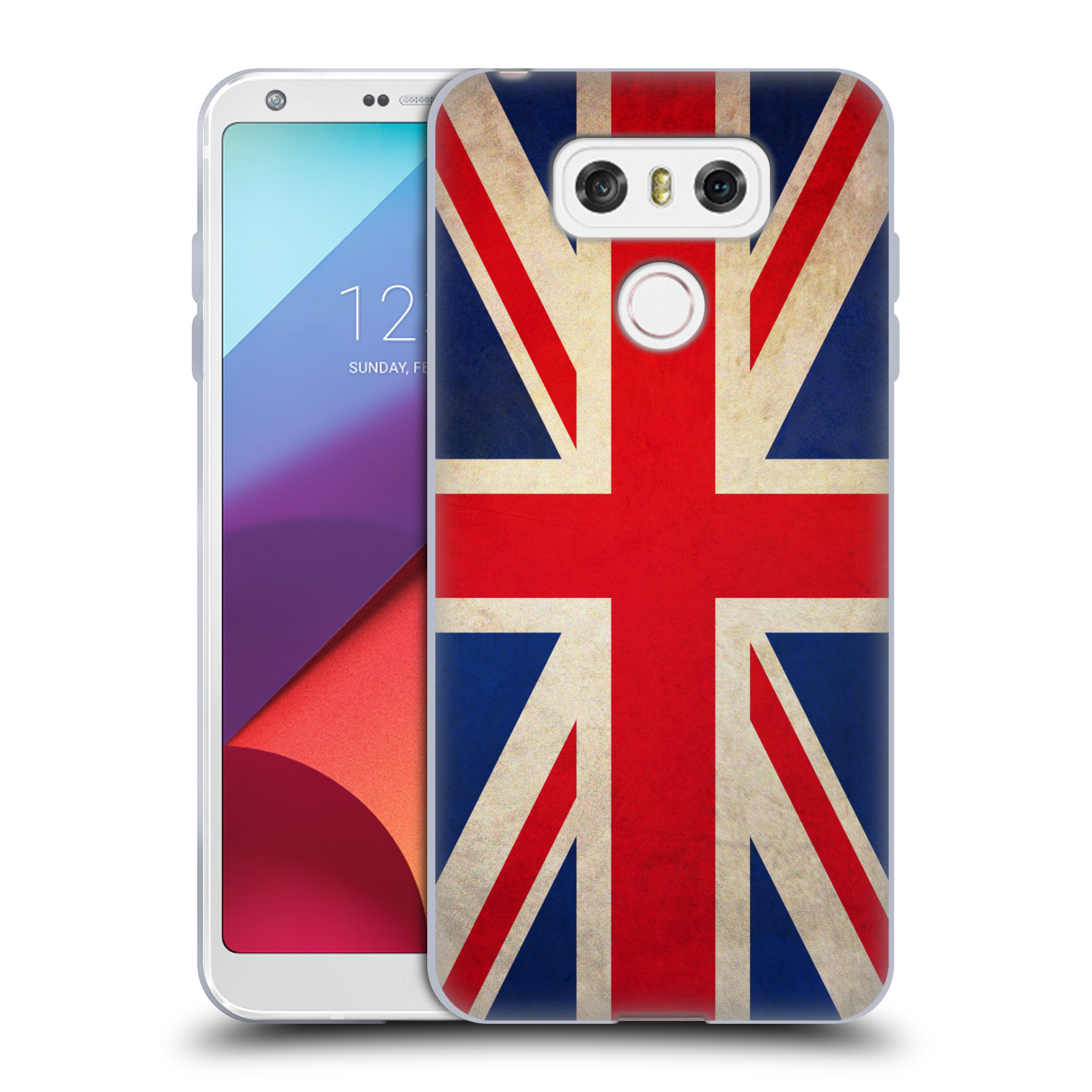 Silikonové pouzdro na mobil LG G6 - Head Case VLAJKA VELKÁ BRITÁNIE (Silikonový kryt či obal na mobilní telefon LG G6 H870 / LG G6 Dual SIM H870DS)