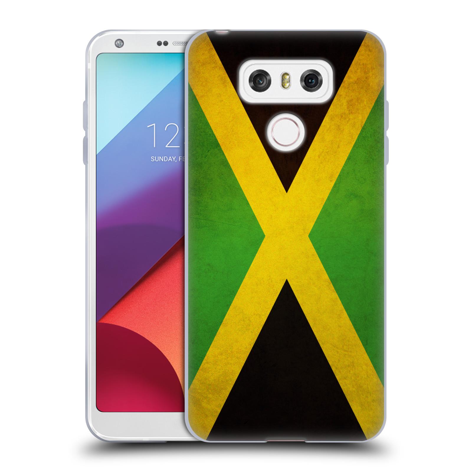 Silikonové pouzdro na mobil LG G6 - Head Case VLAJKA JAMAJKA (Silikonový kryt či obal na mobilní telefon LG G6 H870 / LG G6 Dual SIM H870DS)