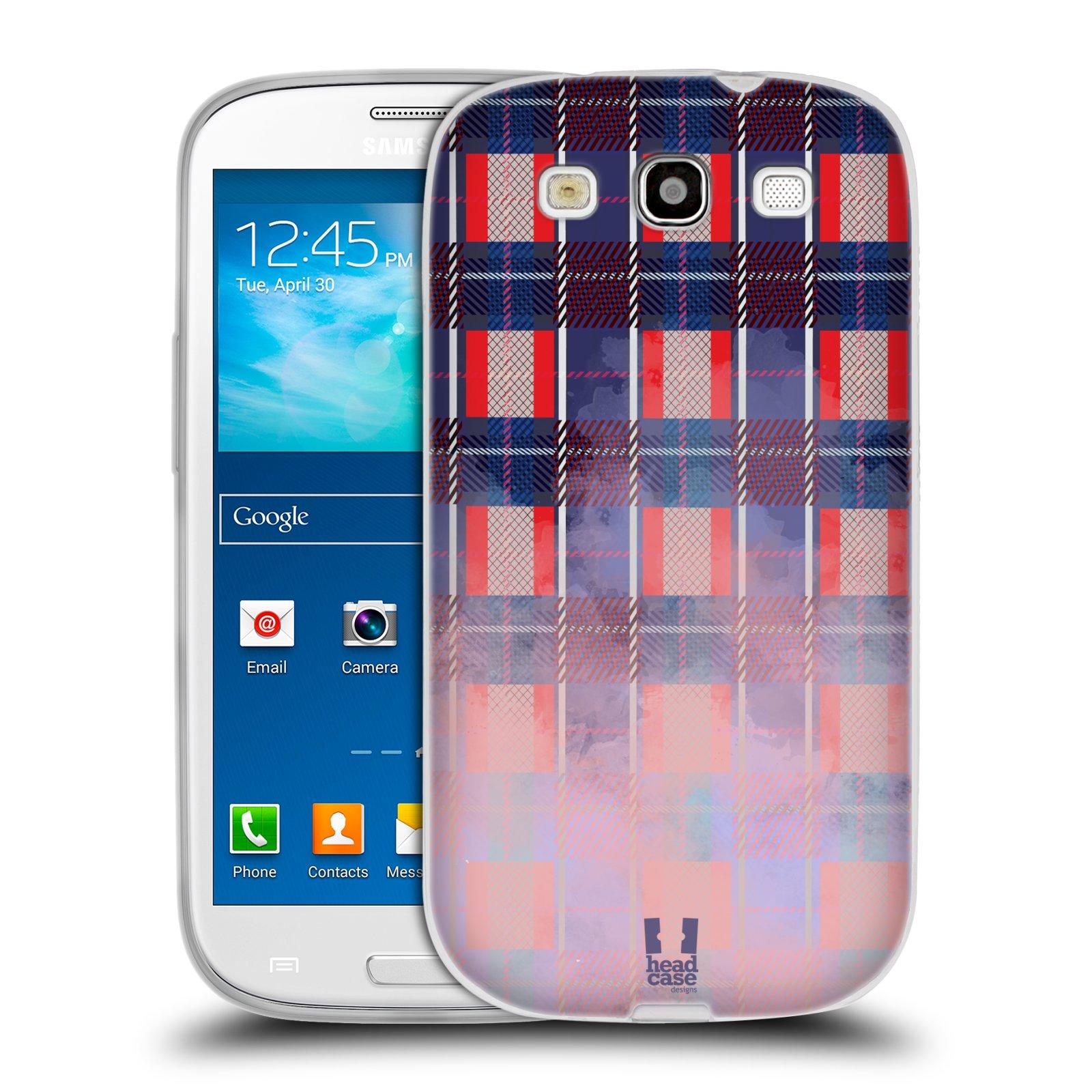 Silikonové pouzdro na mobil Samsung Galaxy S3 Neo HEAD CASE FLANEL NAUTICA (Silikonový kryt či obal na mobilní telefon Samsung Galaxy S3 Neo GT-i9301i)