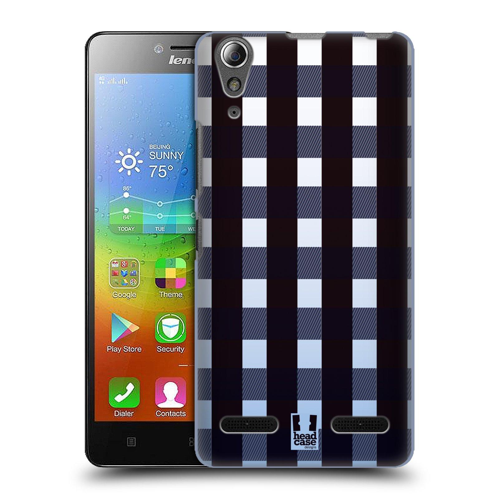 Plastové pouzdro na mobil Lenovo A6000 HEAD CASE FLANEL OMBRE (Kryt či obal na mobilní telefon Lenovo A6000 / A6000 Plus)