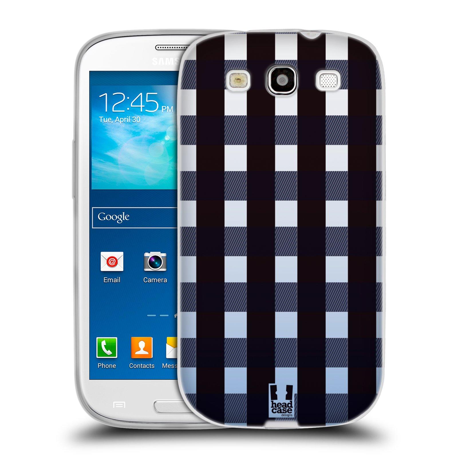 Silikonové pouzdro na mobil Samsung Galaxy S3 Neo HEAD CASE FLANEL OMBRE (Silikonový kryt či obal na mobilní telefon Samsung Galaxy S3 Neo GT-i9301i)