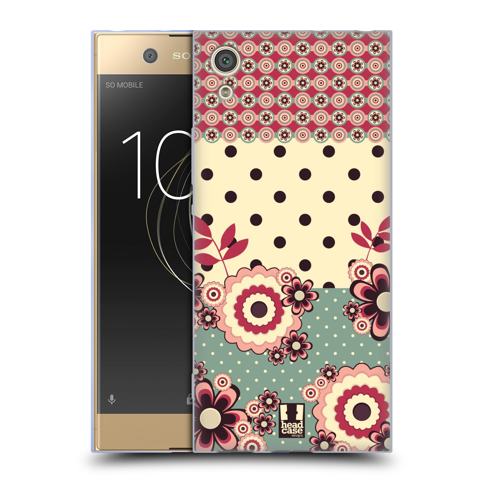 Silikonové pouzdro na mobil Sony Xperia XA1 - Head Case - KVÍTKA PINK CREAM (Silikonový kryt či obal na mobilní telefon Sony Xperia XA1 G3121 s motivem KVÍTKA PINK CREAM)