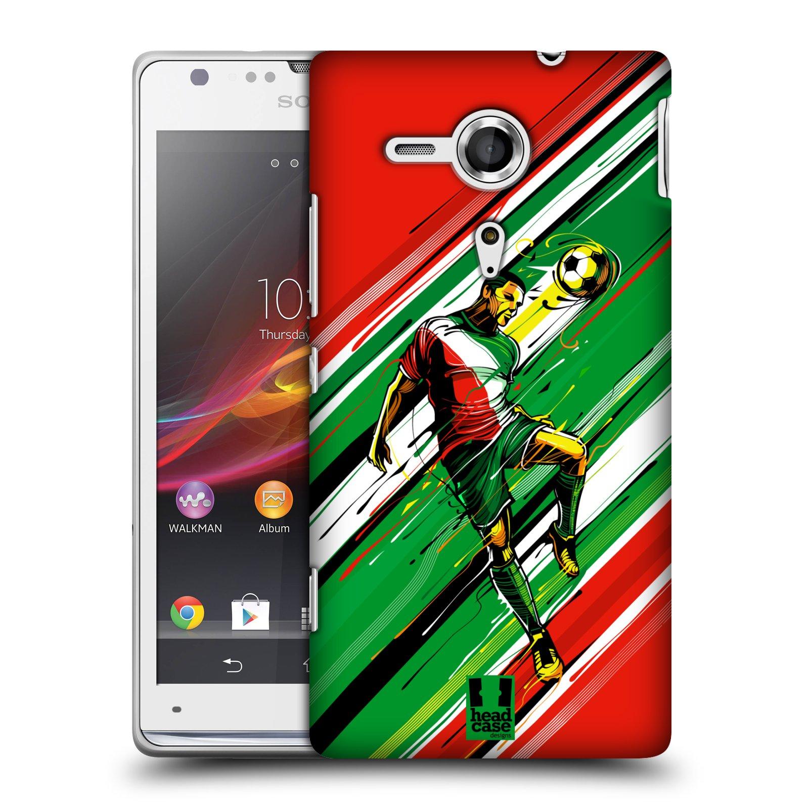 Plastové pouzdro na mobil Sony Xperia SP C5303 HEAD CASE HLAVIČKA (Kryt či obal na mobilní telefon Sony Xperia SP )
