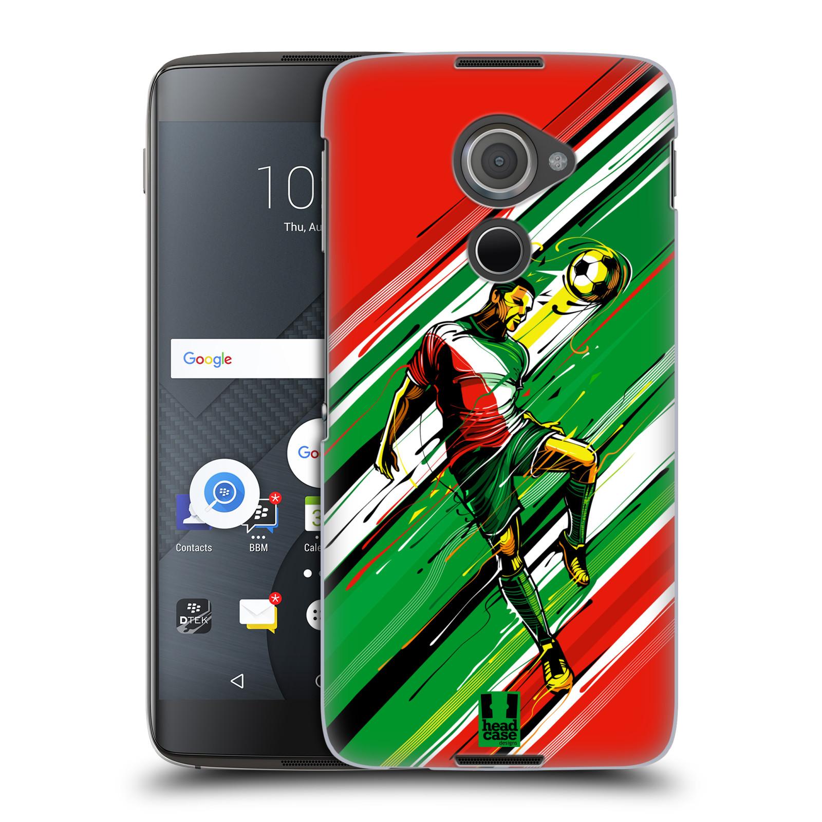Plastové pouzdro na mobil Blackberry DTEK60 (Argon) - Head Case HLAVIČKA (Plastový kryt či obal na mobilní telefon Blackberry DTEK60 (Argon))