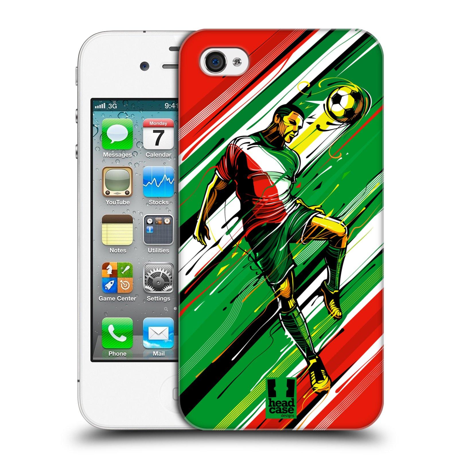Plastové pouzdro na mobil Apple iPhone 4 a 4S HEAD CASE HLAVIČKA empty 741248d50bb