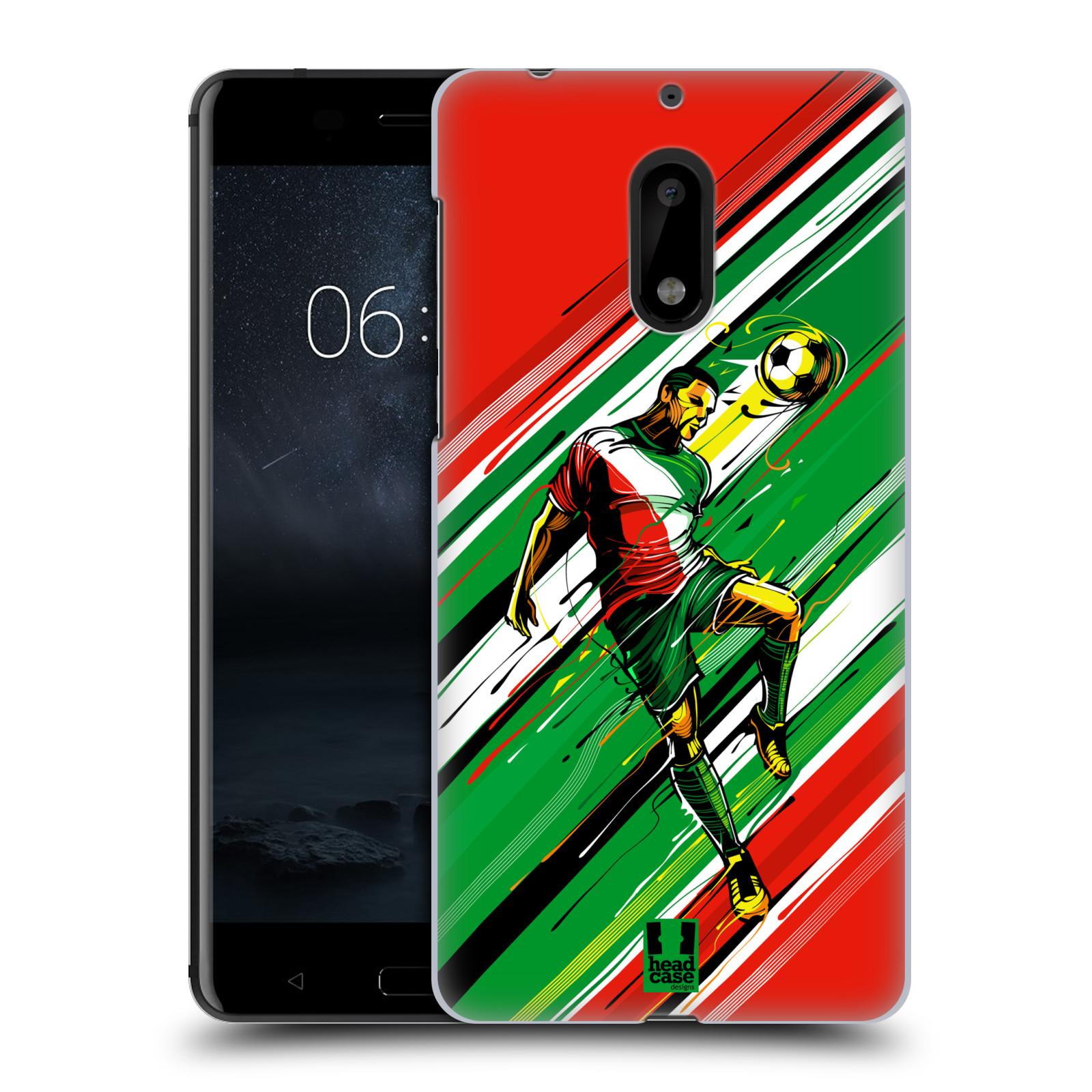 Plastové pouzdro na mobil Nokia 6 - Head Case HLAVIČKA (Plastový kryt či obal na mobilní telefon Nokia 6 (Dual SIM))
